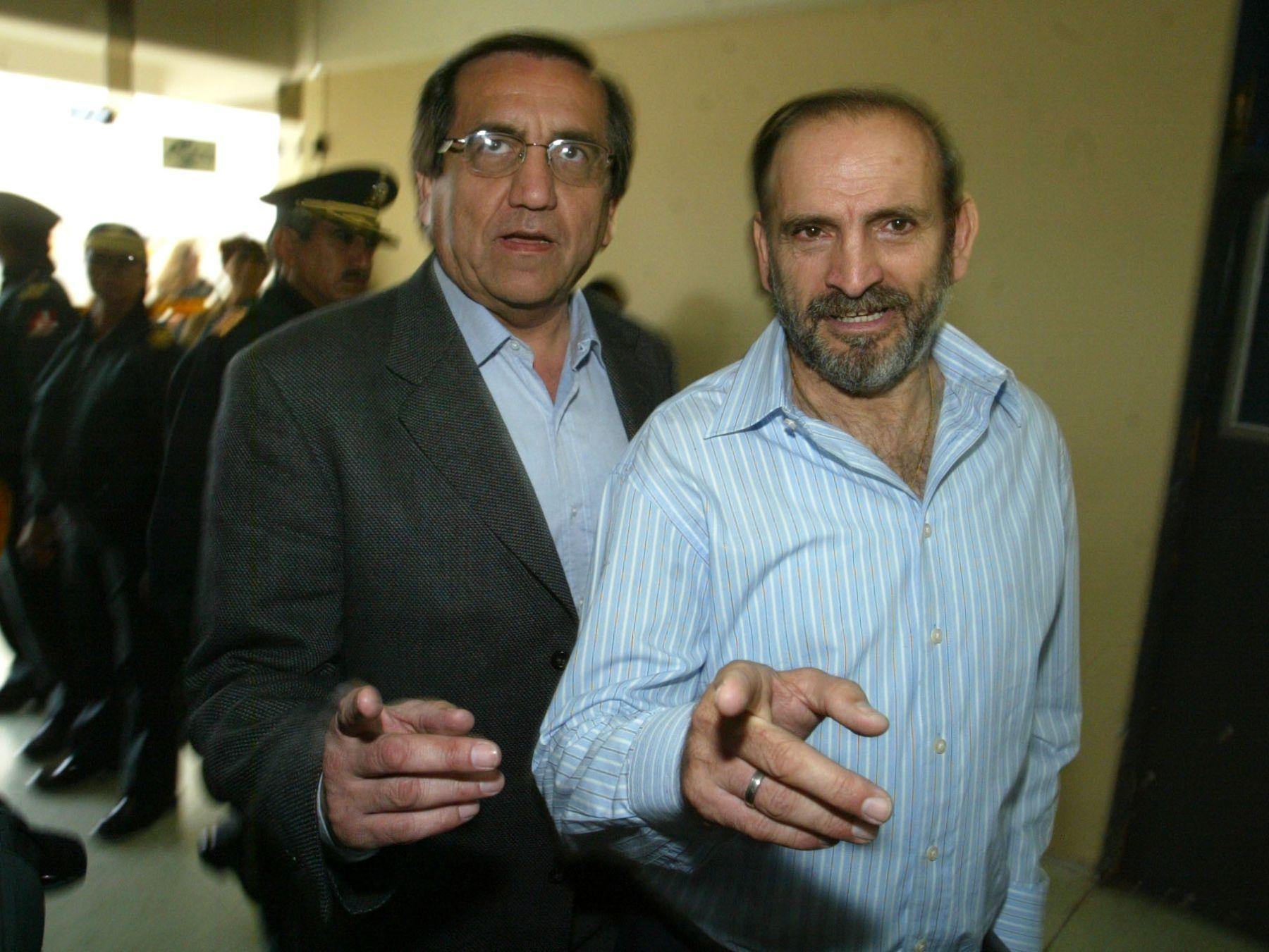 Jorge del Castillo y Yehude Simon. Foto: ANDINA/Archivo.