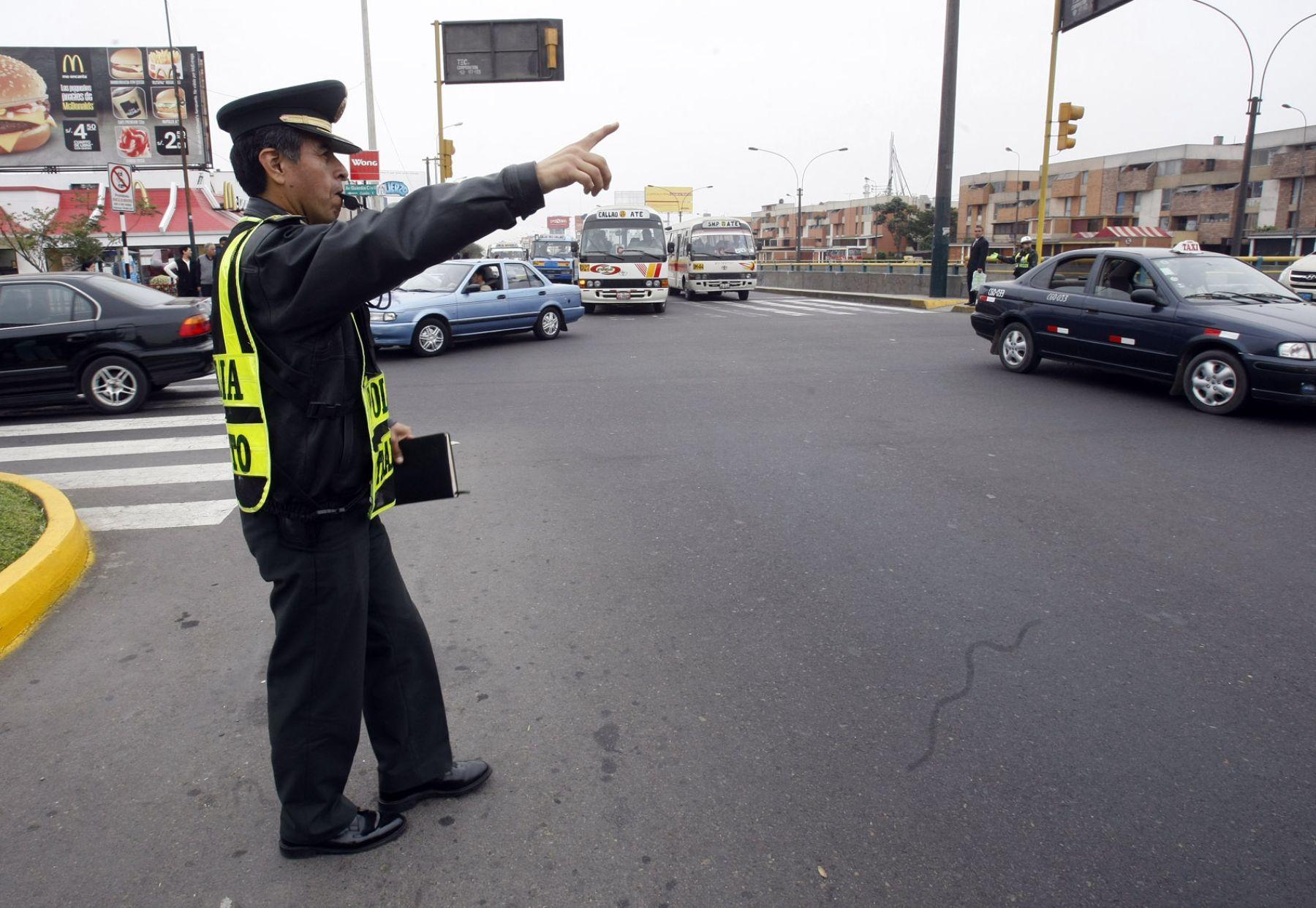 Habrá tránsito restringido hoy en San Borja, sede de la Cumbre de las Américas. Foto: ANDINA/Juan Carlos Guzmán