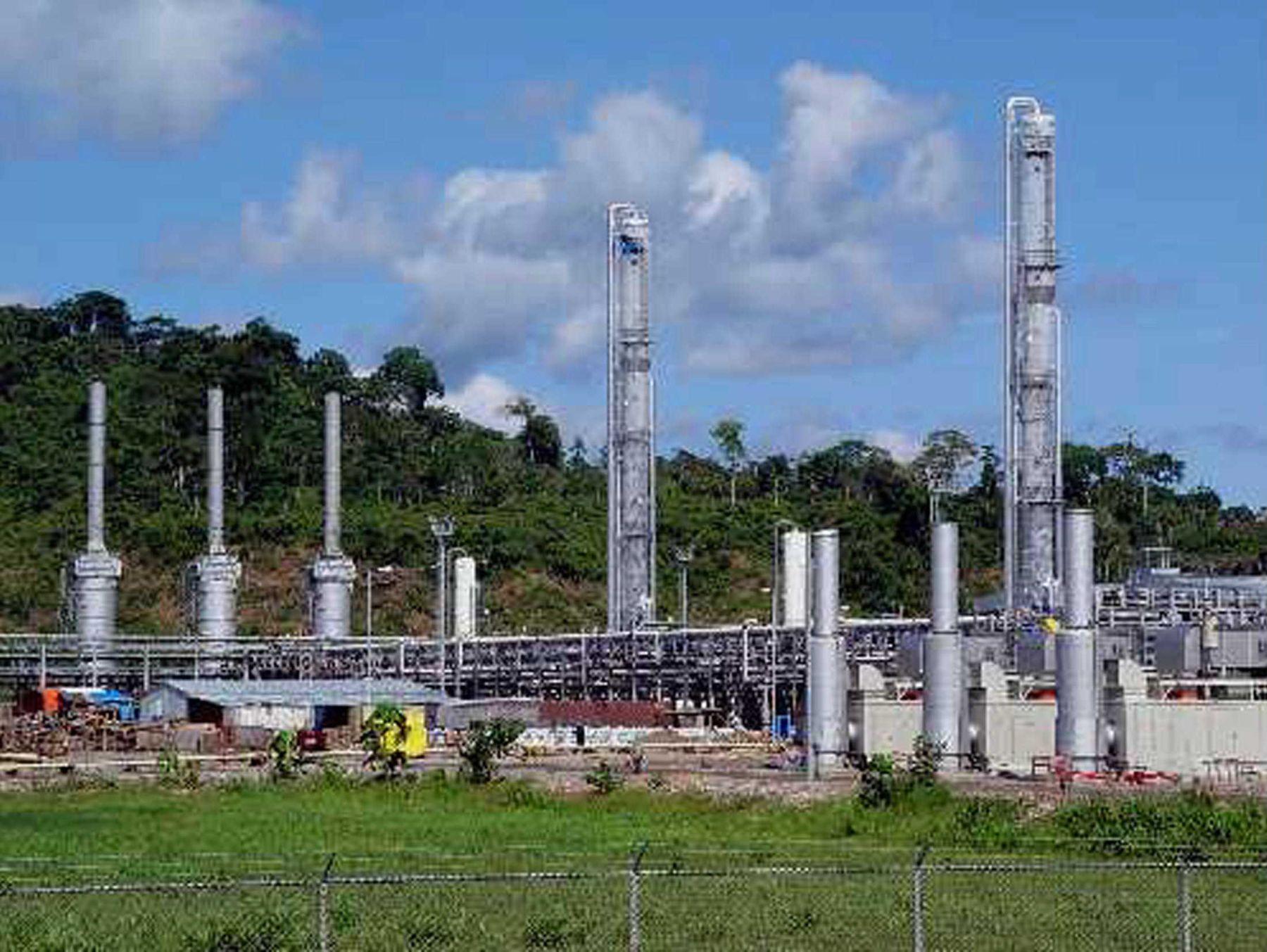 Planta de gas de Camisea. ANDINA/archivo
