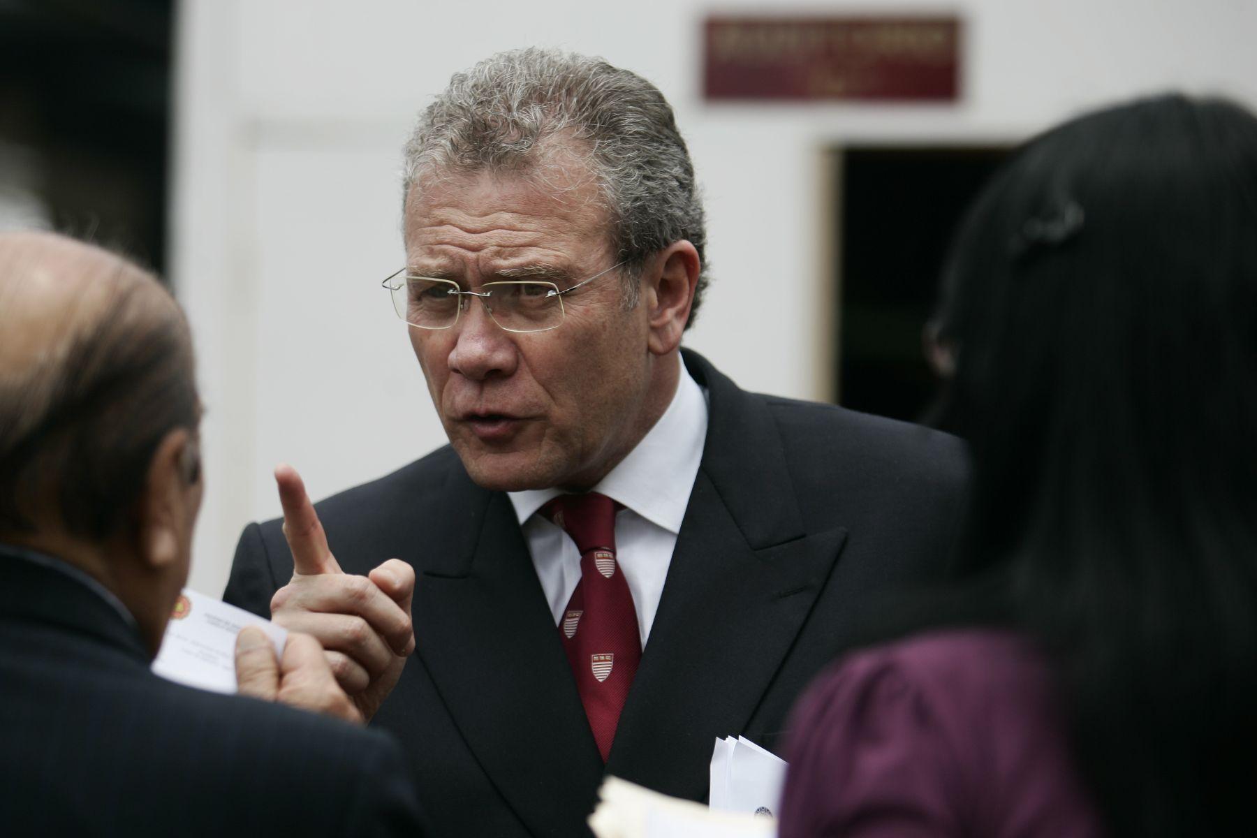 Peruvian Ambassador Gonzalo Gutierrez Reinel.