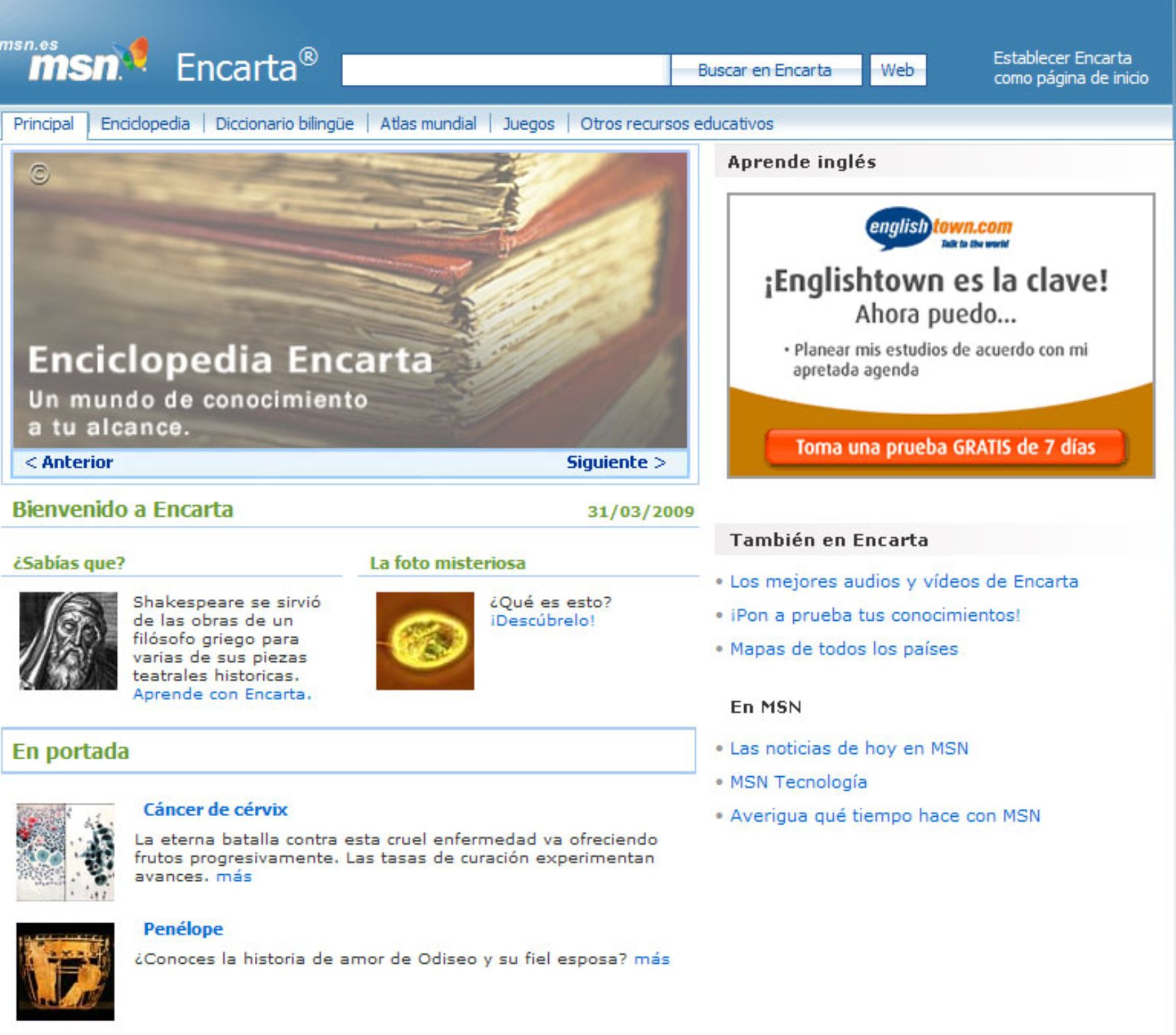 Microsoft Encarta dies after long battle with Wikipedia