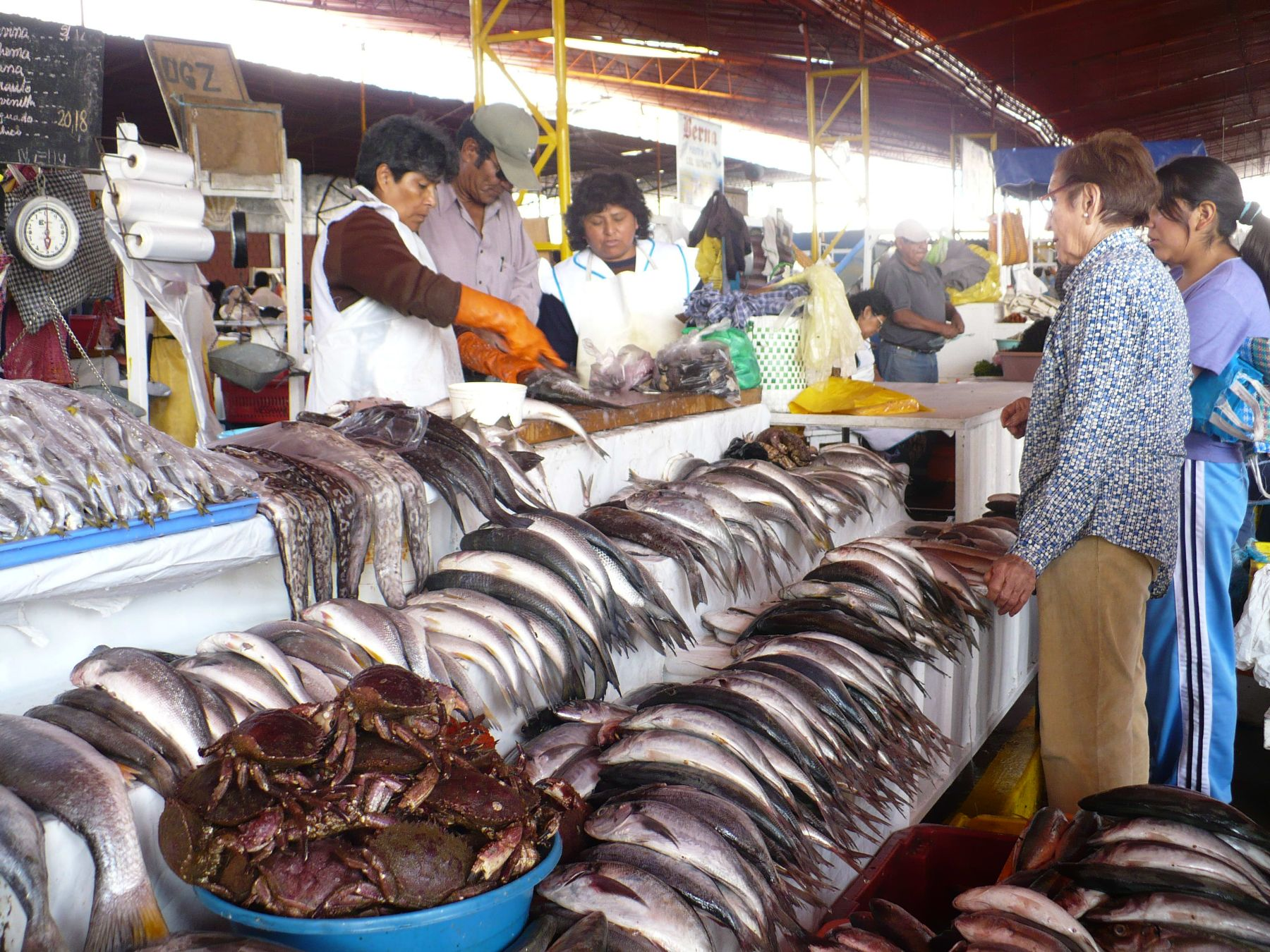 Resultado de imagen para terminal de pescado lima