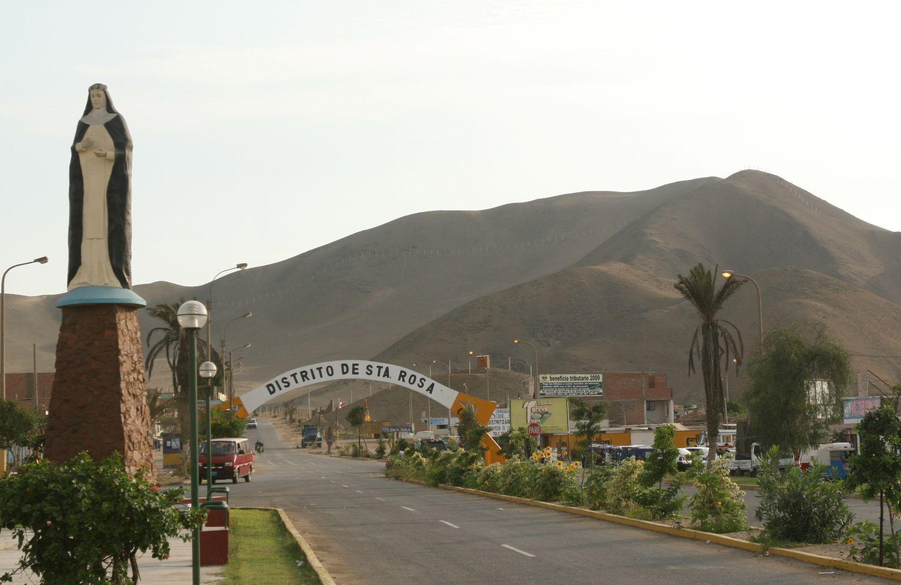 Balmeario de Santa Rosa. Foto: ANDINA / Héctor Vinces.
