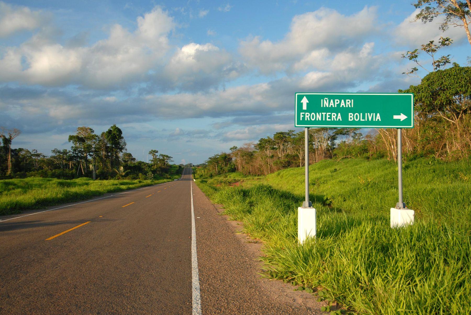 Carretera Interoceánica Sur.