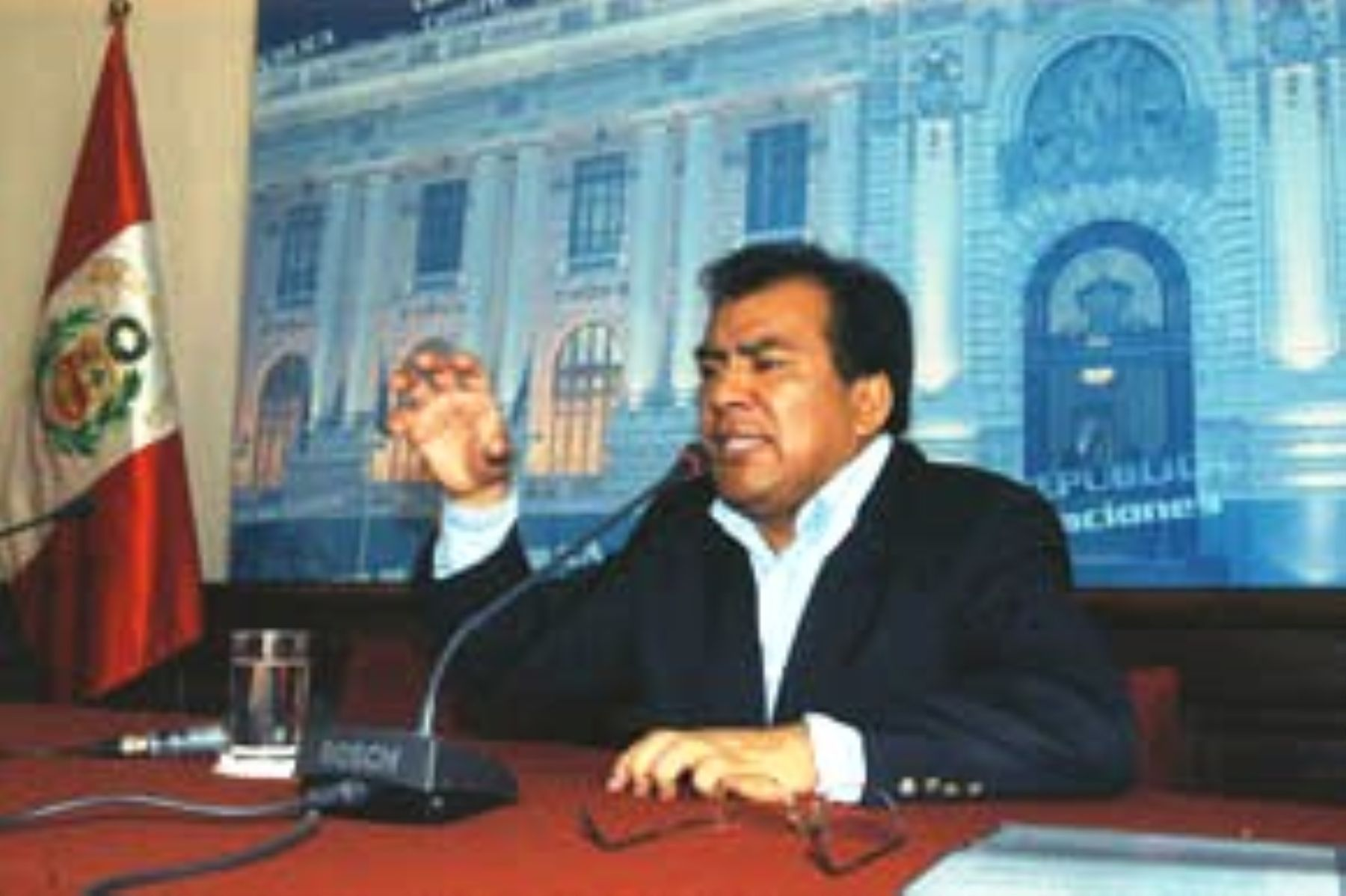 El presidente del Congreso de la República Javier Velásquez Quesquén.Foto: ANDINA/CDR.