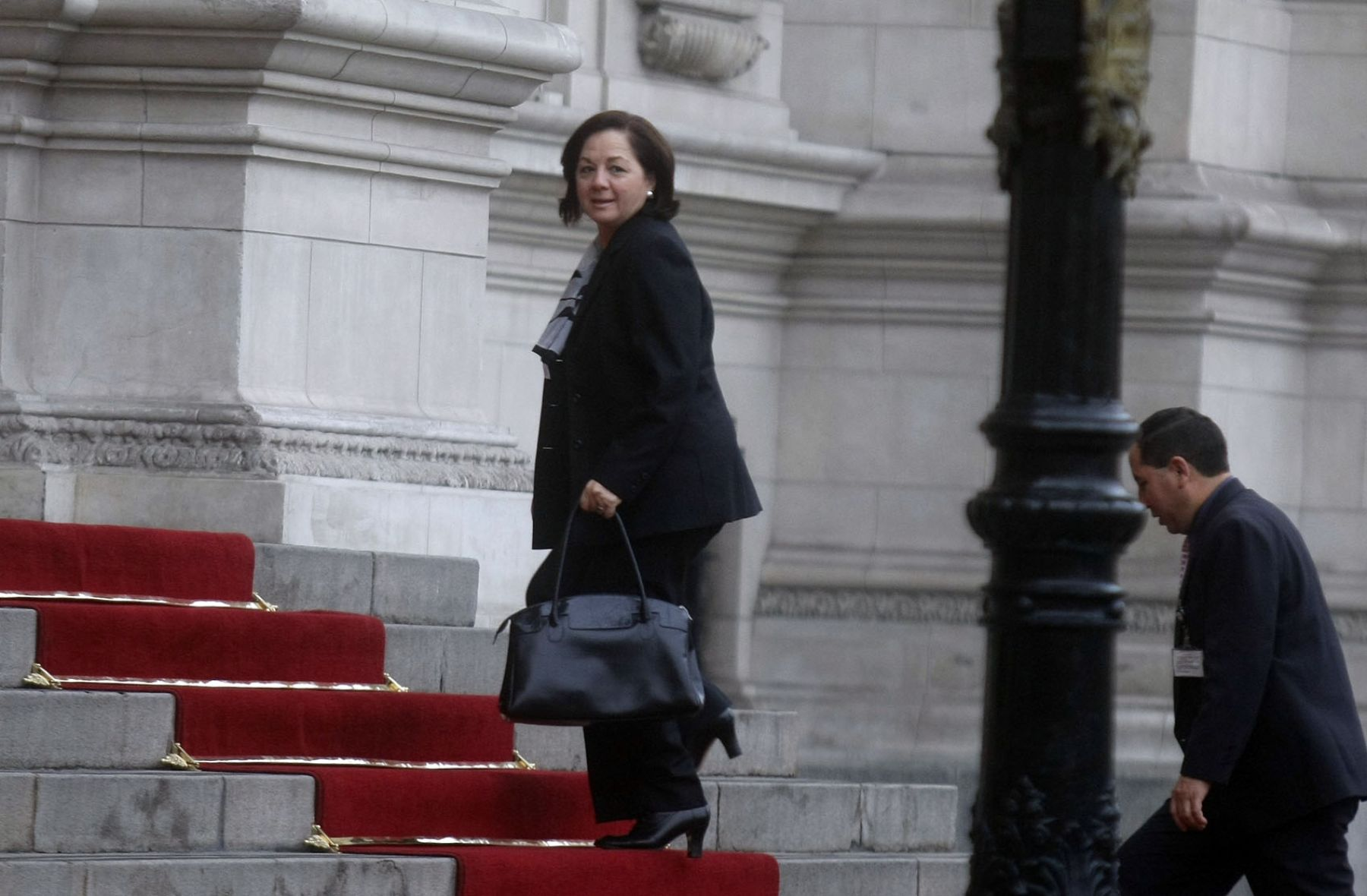 Justice Minister Rosario Fernandez. Photo: ANDINA/Juan Carlos Guzman Negrini
