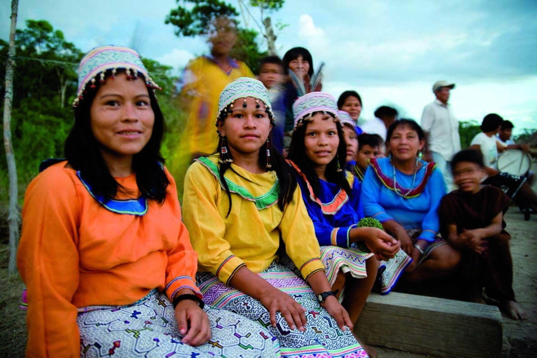 Foto: Las comunidades shipibo-konibo solicitan urgente atención para hacerle frente a la pandemia / Fuente: Andina