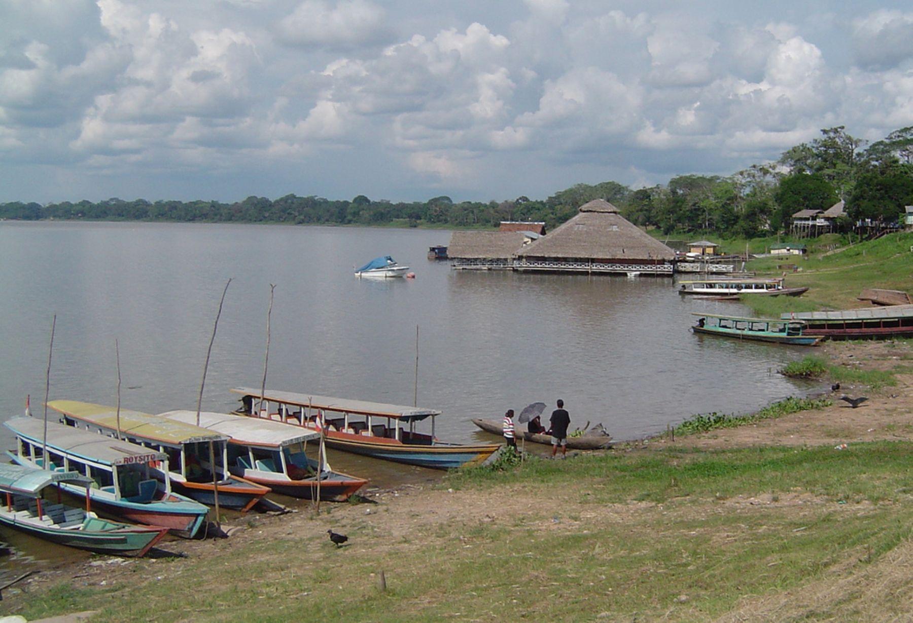 Laguna de Yarinacocha, en Pucallpa (Ucayali).
