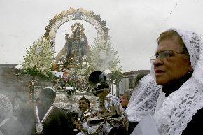 Virgen del Carmen de Lima. Foto: ANDINA/archivo