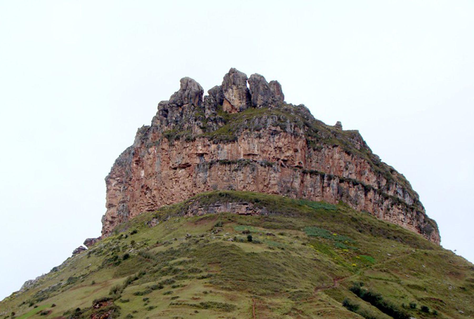 Corona del Inca, atractivo turístico del departamento de Huánuco. ANDINA/Difusión