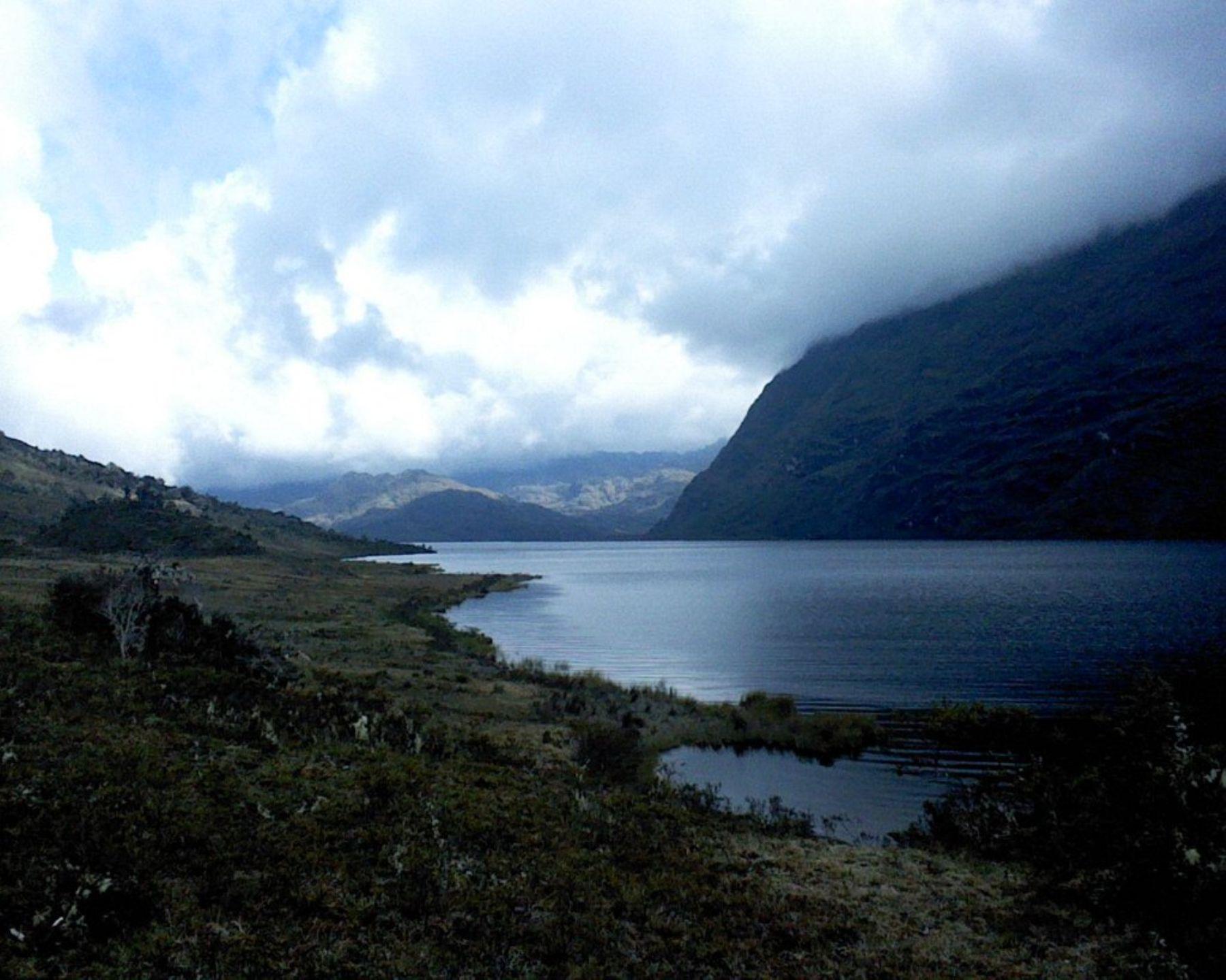 Laguna de Carpa, ubicada en el distrito de Tantamayo, en la provincia de Huamalíes. Foto: Gobierno regional de Huánuco.