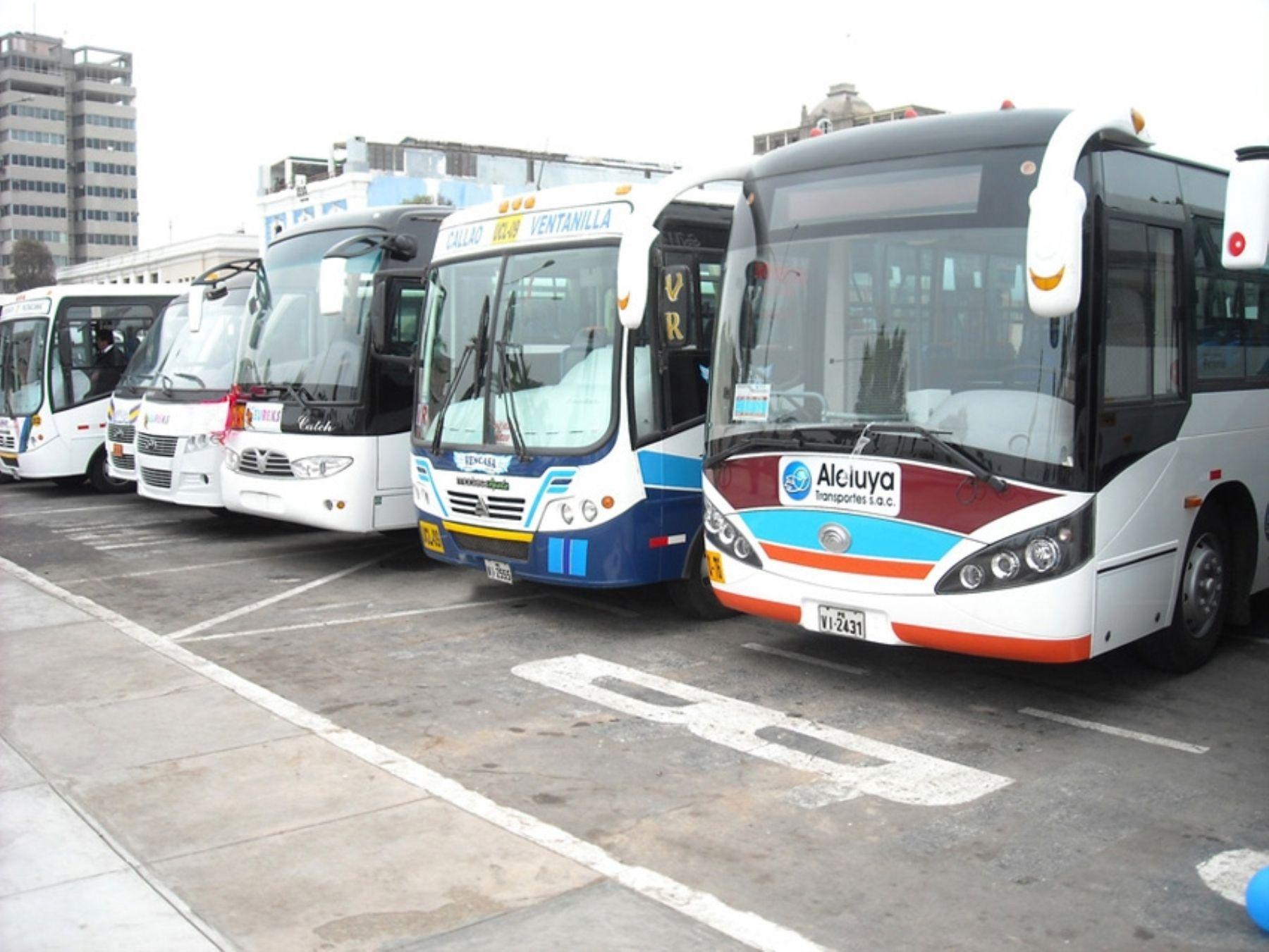 El objetivo es modernizar el parque automotor nacional. Foto: ANDINA/Difusión.
