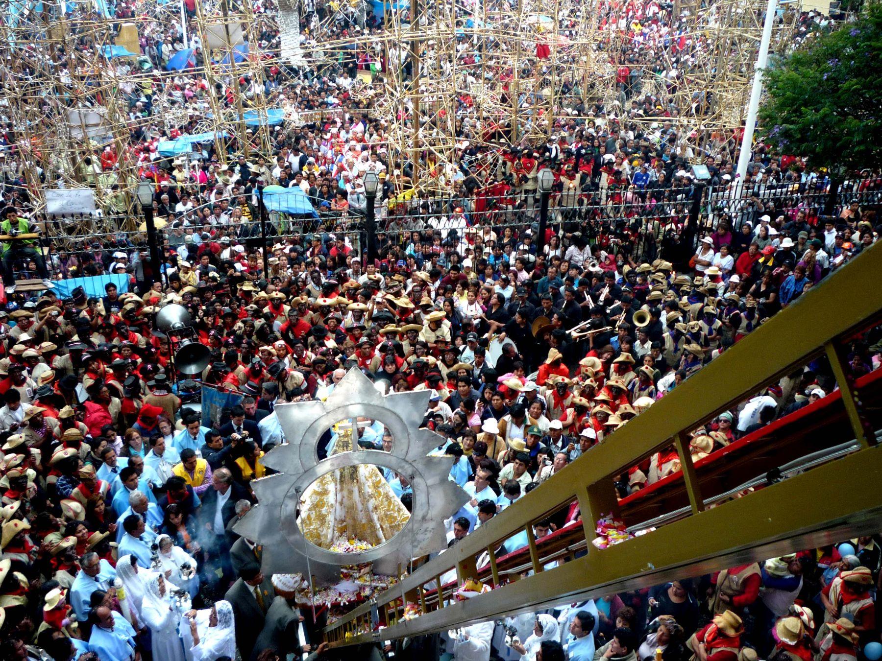 Papa Francisco coronará a la Virgen de la Puerta durante visita a Trujillo, anunció monseñor Miguel Cabrejos. ANDINA