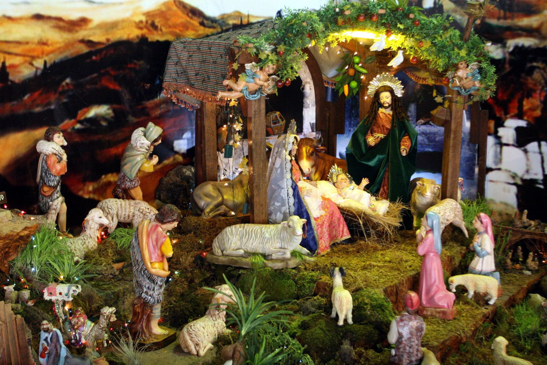 Fotos Del Nacimiento De Navidad.Peru Es El Pais Donde Esta Mas Arraigada Costumbre De