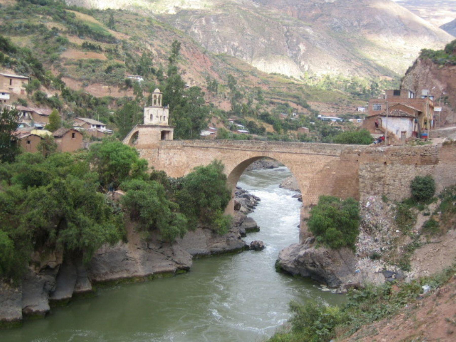 Distrito de Izcuchaca, en la provincia de Huancavelica. Foto: Gobierno Regional de Huancavelica.
