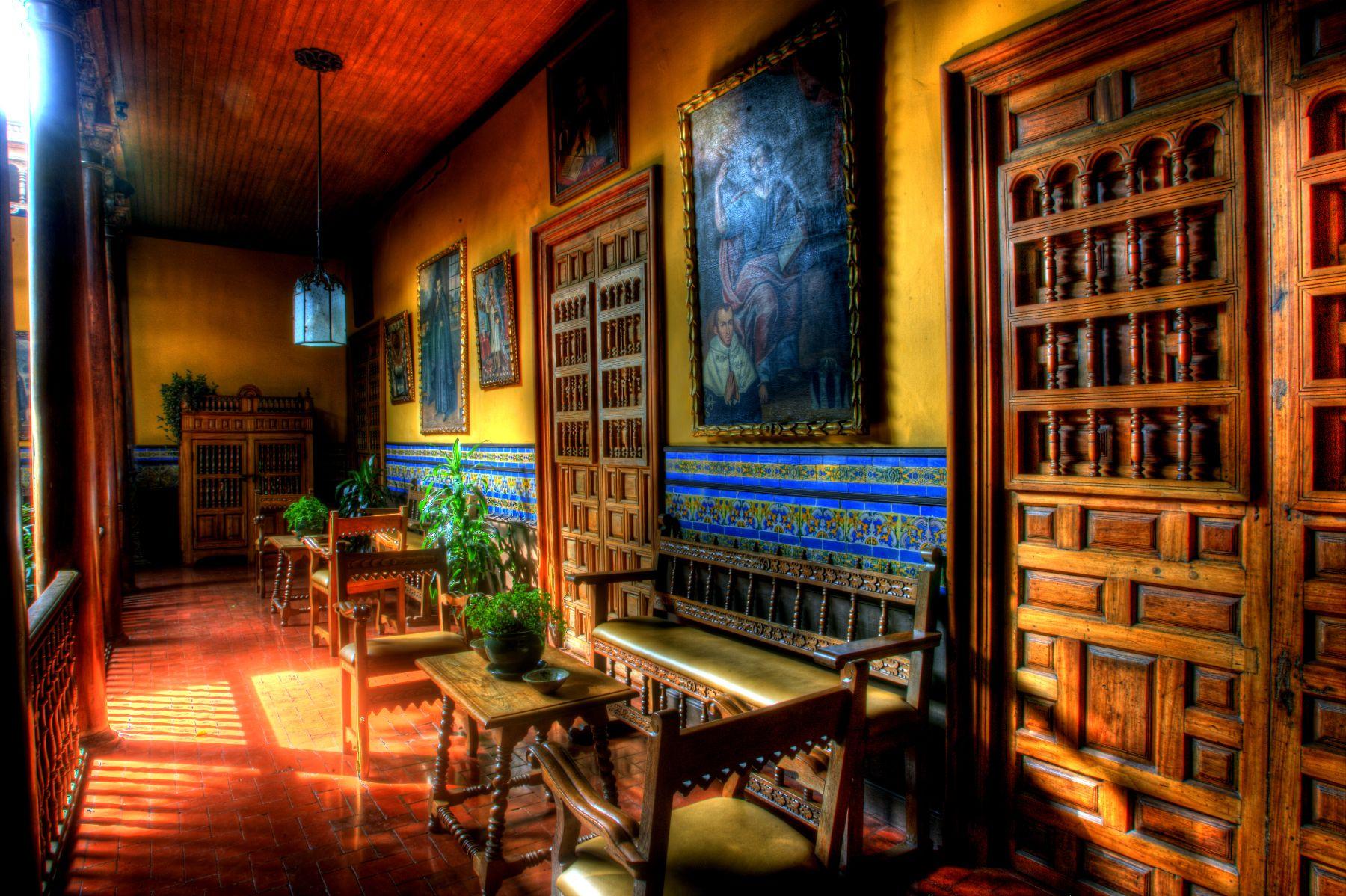 Casa De Aliaga en formato HDR. Foto: ANDINA/Alberto Orbegoso