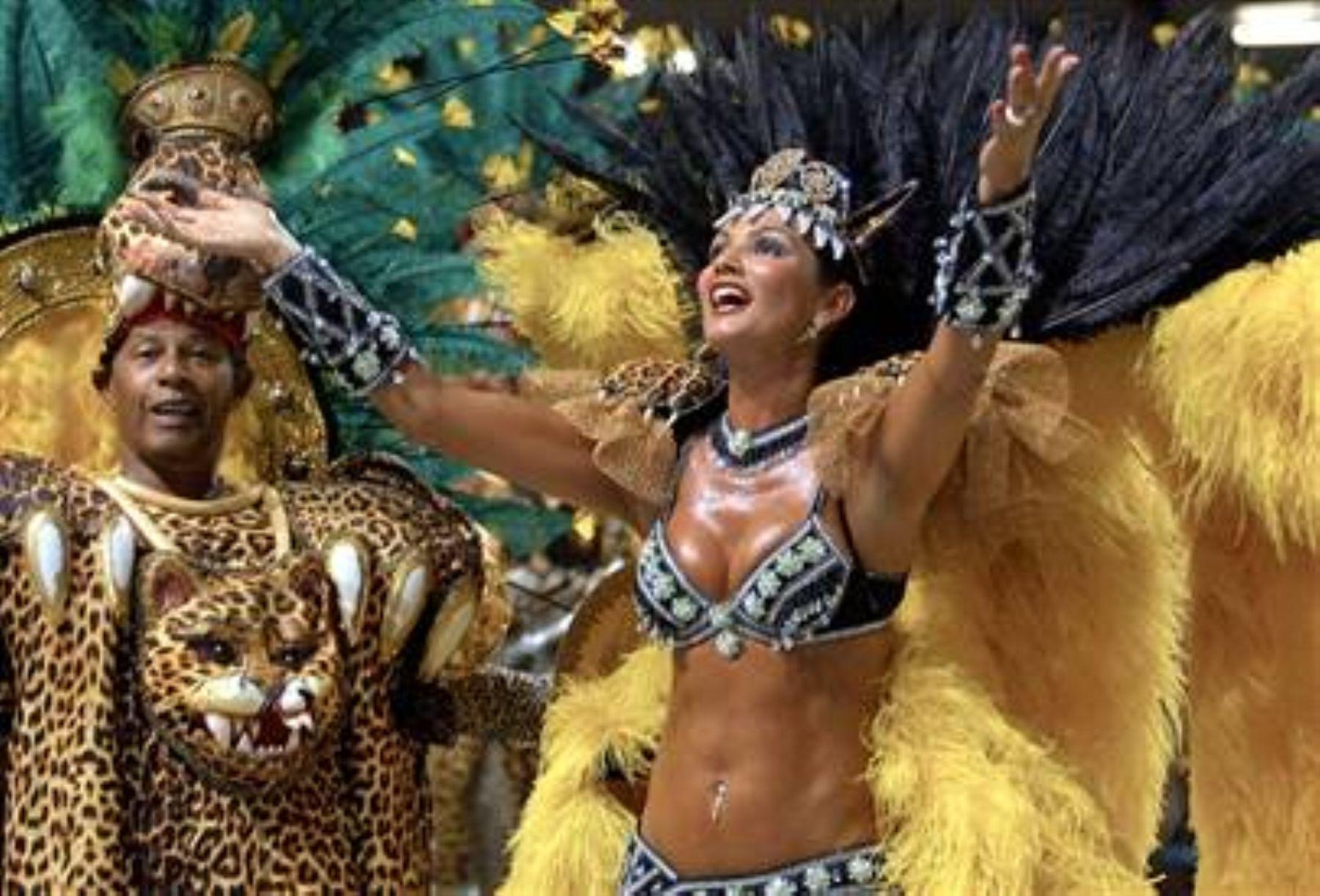 Empezaron los desfiles del Carnaval de Río de Janeiro. Foto: INTERNET/Medios.