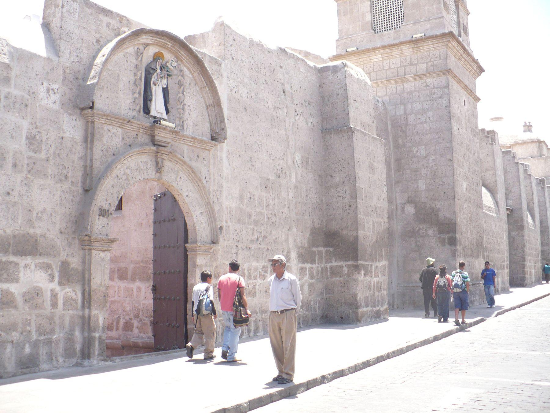 Monasterio Santa Catalina de Arequipa. ANDINA/Rocío Méndez