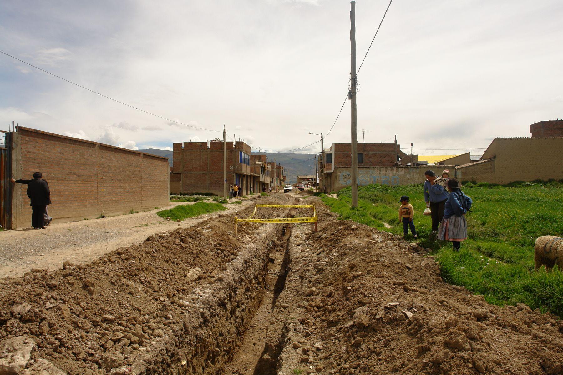 Fondo Contravalor Perú Japón financia obras de saneamiento en Pomacancha, Junín. ANDINA/Difusión