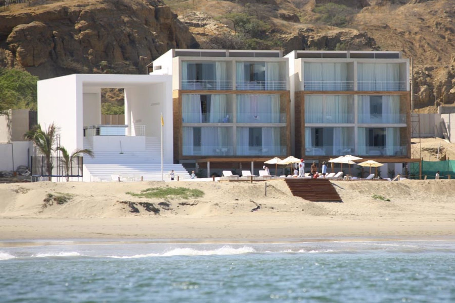 Luxury hotel in Mancora. Photo: ANDINA.