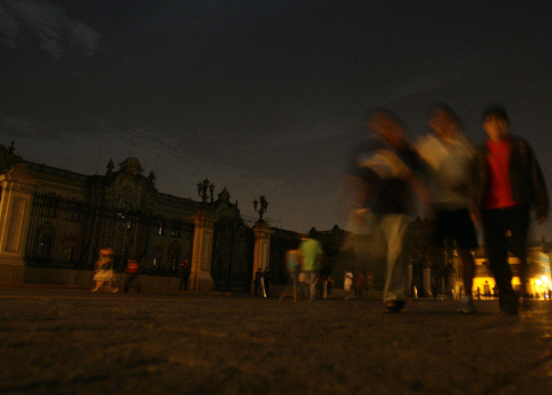 Mañana se realizará La Hora del Planeta. Foto: ANDINA/Vidal Tarqui