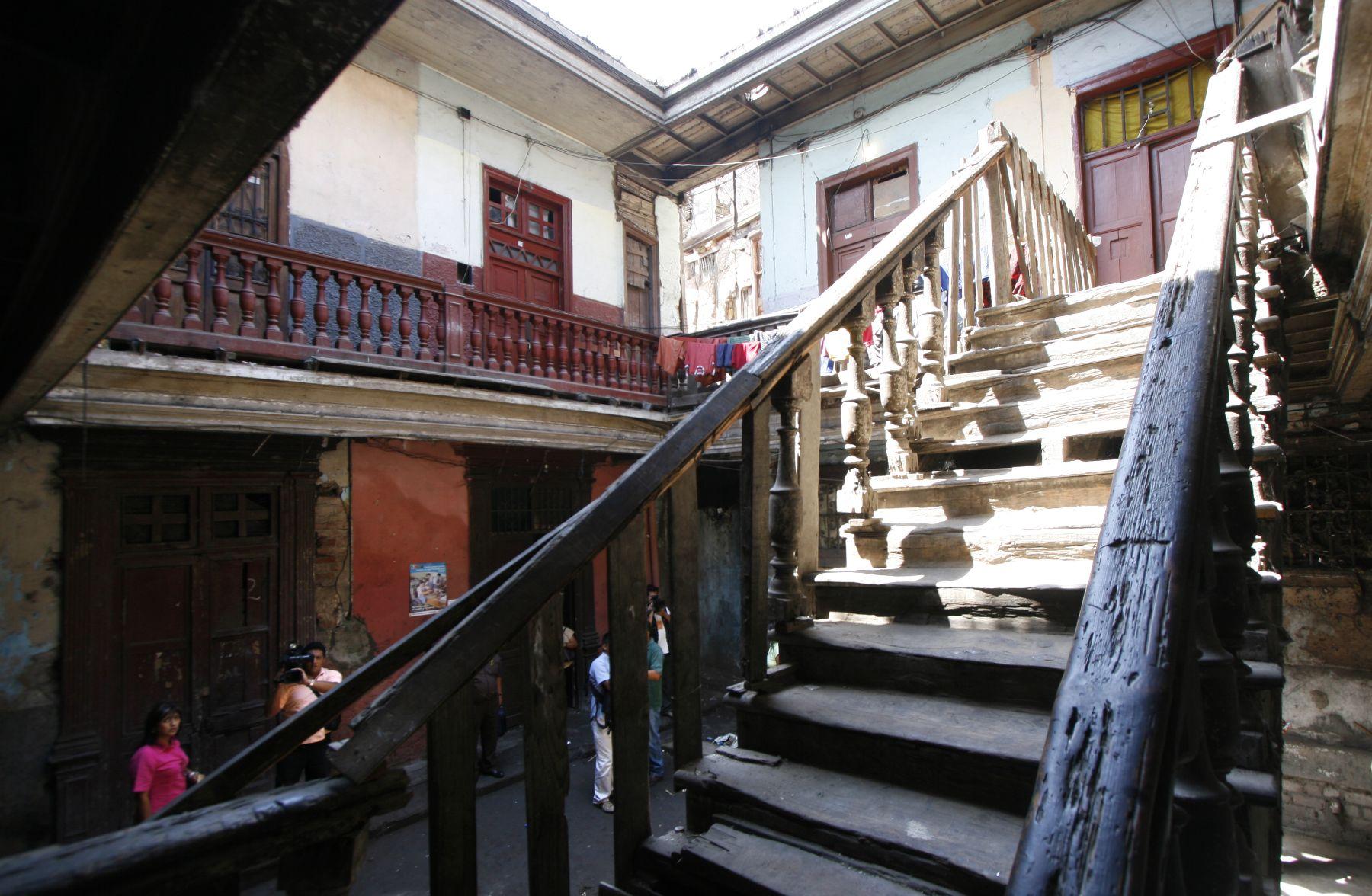 Viviendas antiguas son las más vulnerables ante la ocurrencia de un sismo. Foto: ANDINA/Archivo