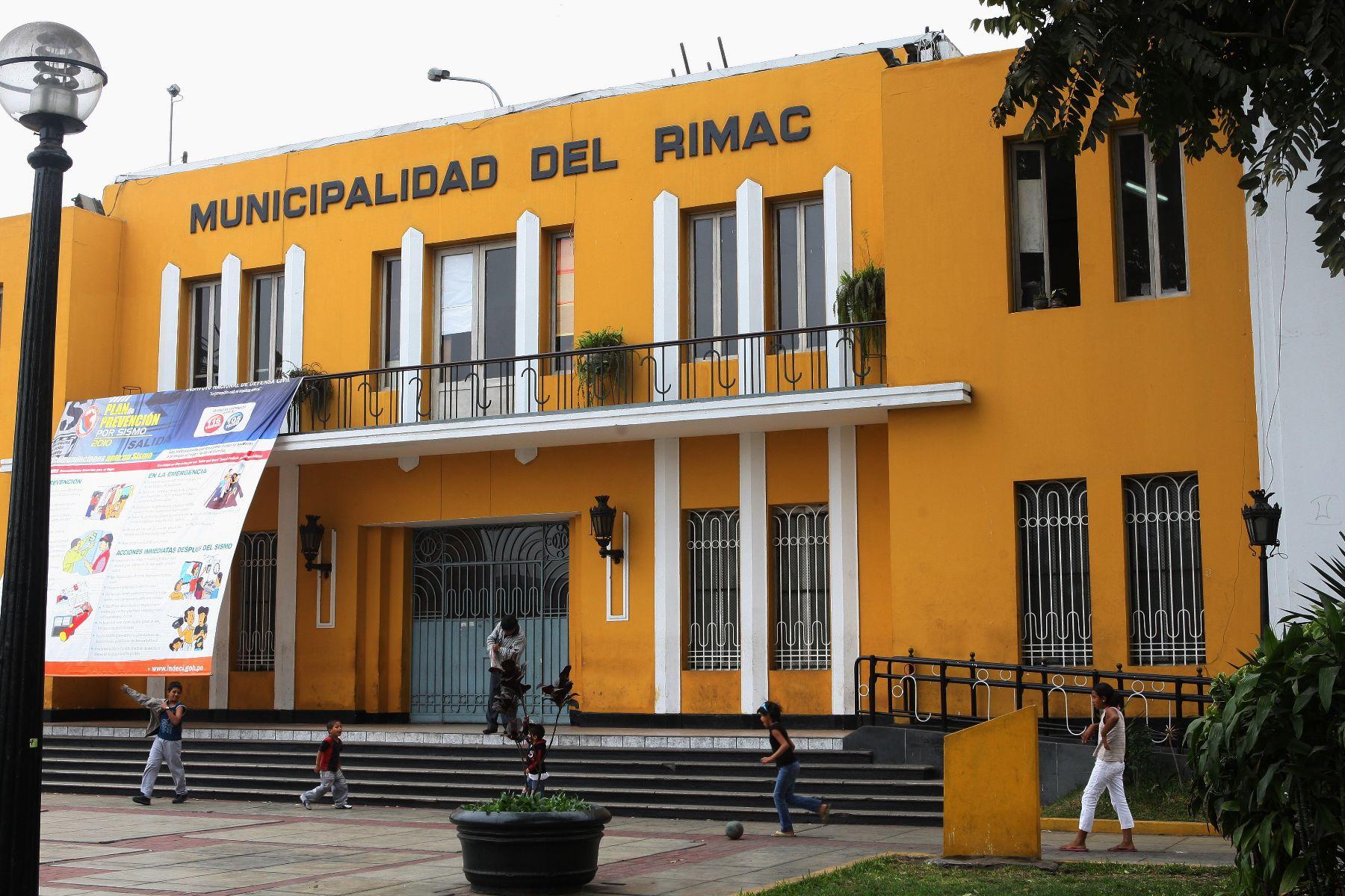 La Municipalidad del Rímac inicia inscripción de la población vulnerable para la entrega de canastas. ANDINA/Norman Córdova