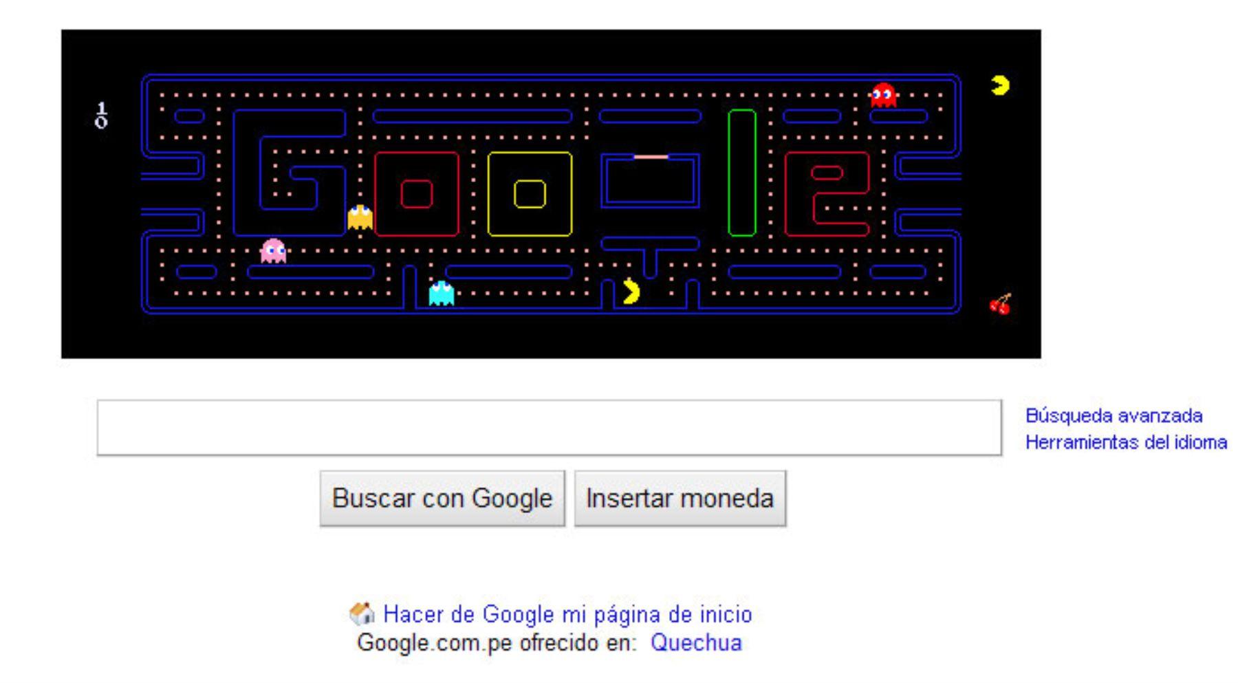 Google Convierte Su Logo En Videojuego Para Celebrar Los 30 Anos Del
