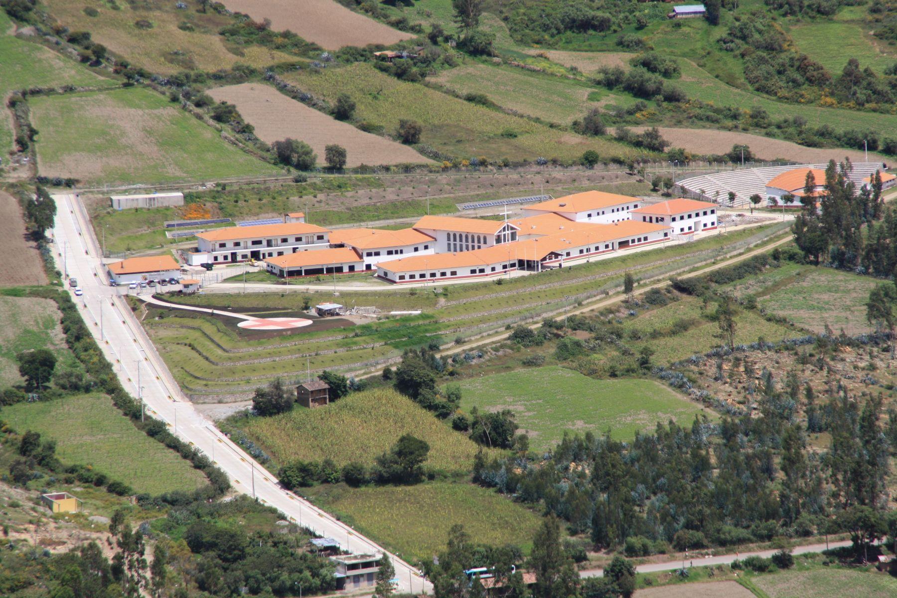 Vista panorámica del hospital, ubicado en el distrito de Curahuasi, en Apurímac. Foto: Andina/Diospi Suyana.
