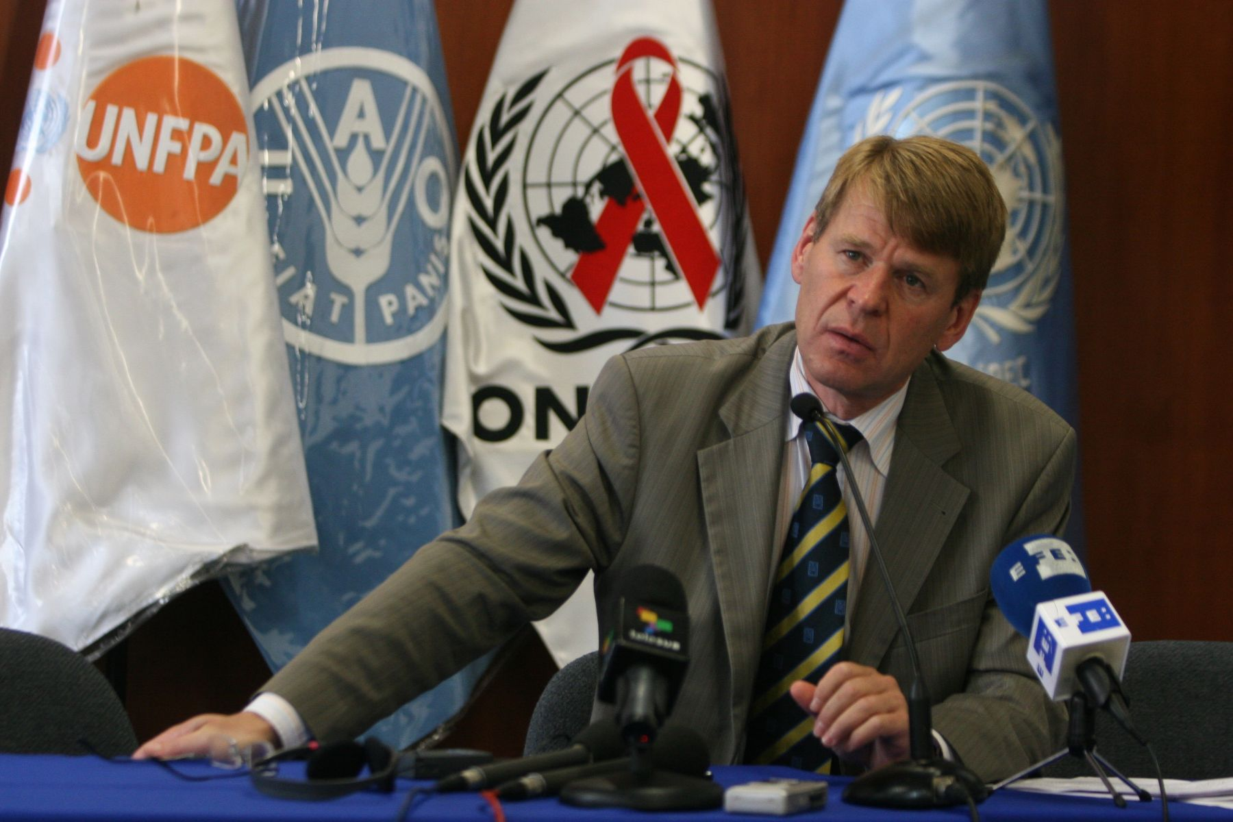 Martin Scheinin, relator especial de la ONU para Derechos Humanos y Lucha Contra el Terrorismo. Foto: ANDINA/Héctor Vinces