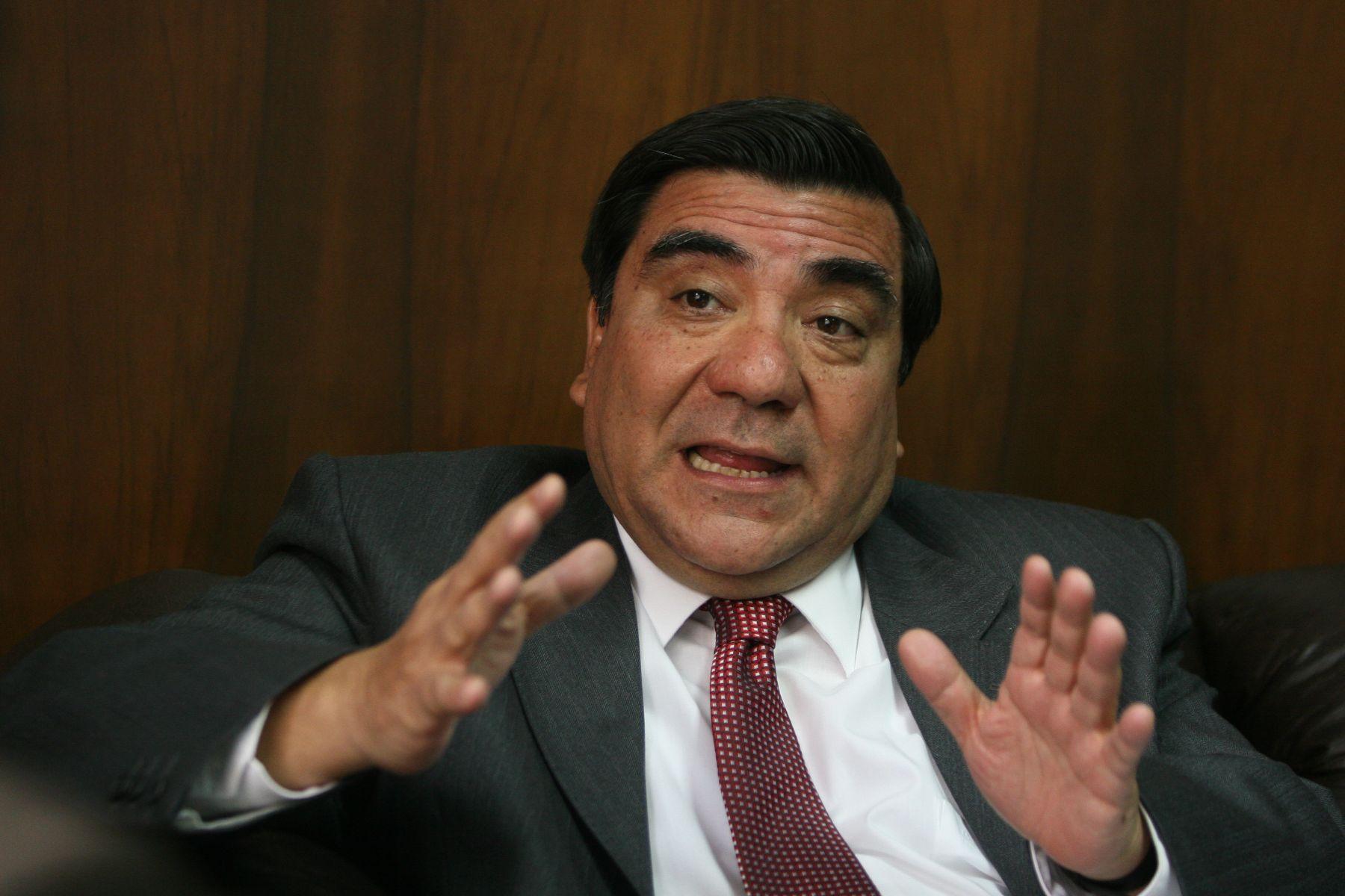Víctor García Toma, expresidente del TC. Foto: ANDINA/Héctor Vinces.