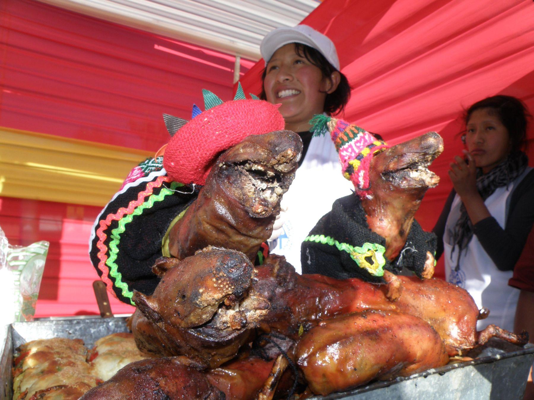 Platos típicos como el chiriuchu serán ofertados en feria gastronómica en el distrito de Santiago, en Cusco. Foto: ANDINA / Percy Hurtado.