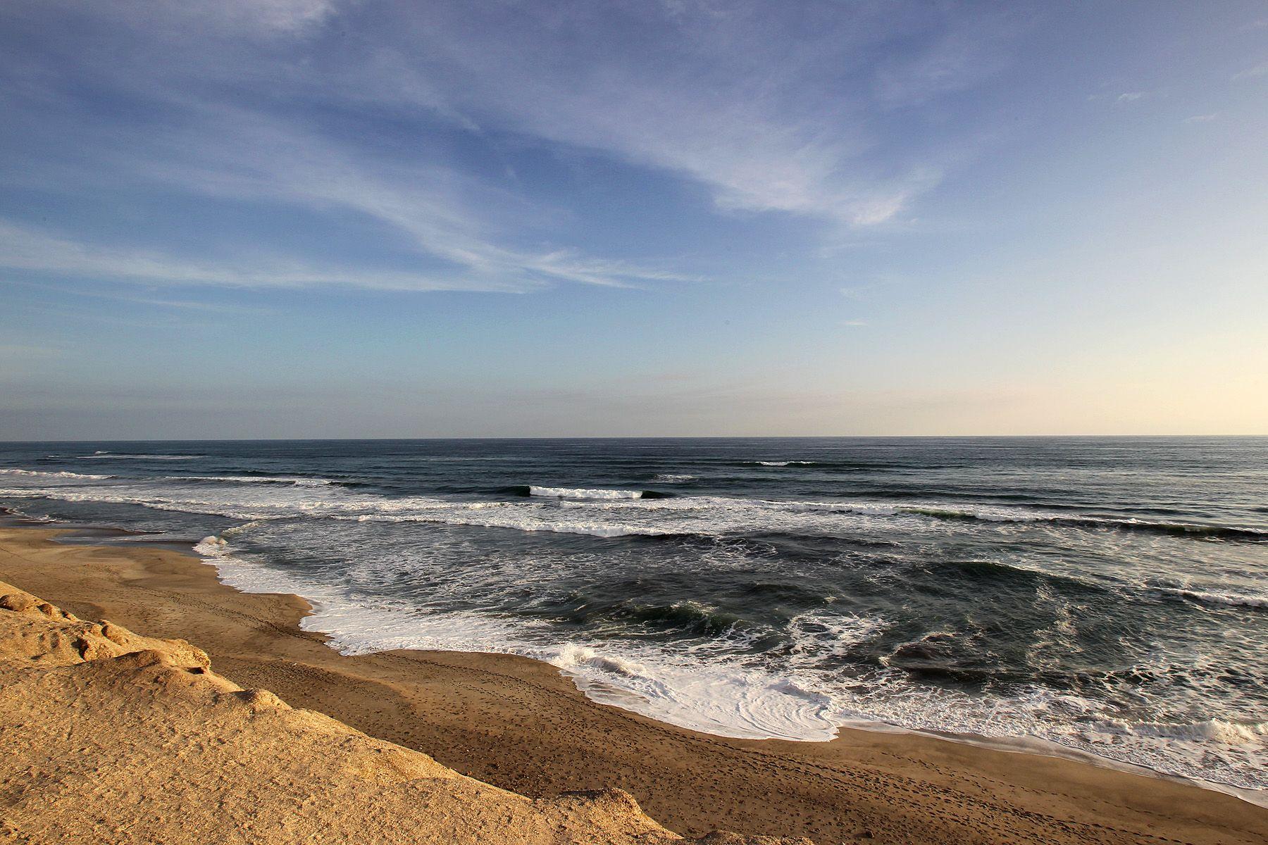 Playa Bolivia ubicado en Ilo - Moquegua. Foto: ANDINA/Rubén Grández