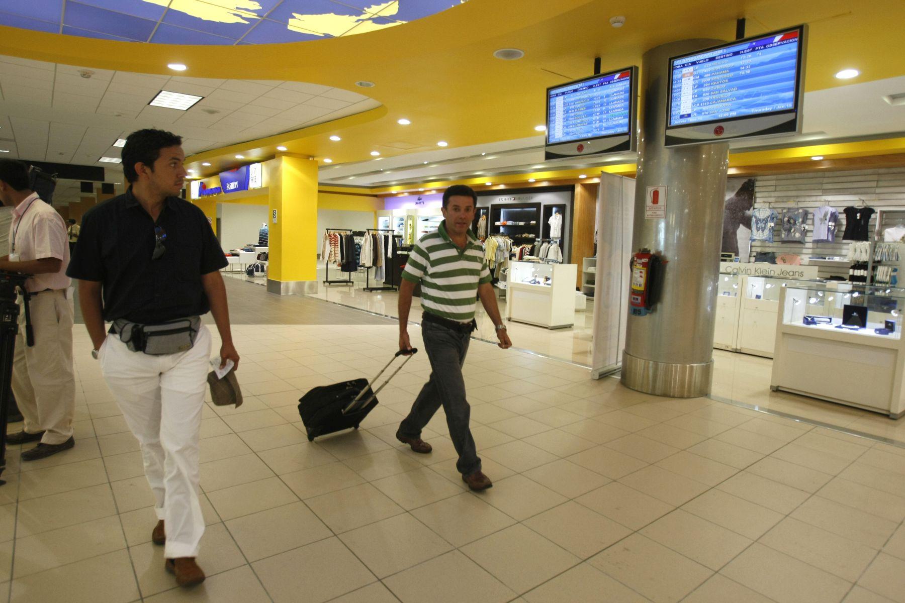 Aeropuerto Internacional Jorge Chávez.  Foto: ANDINA / Archivo