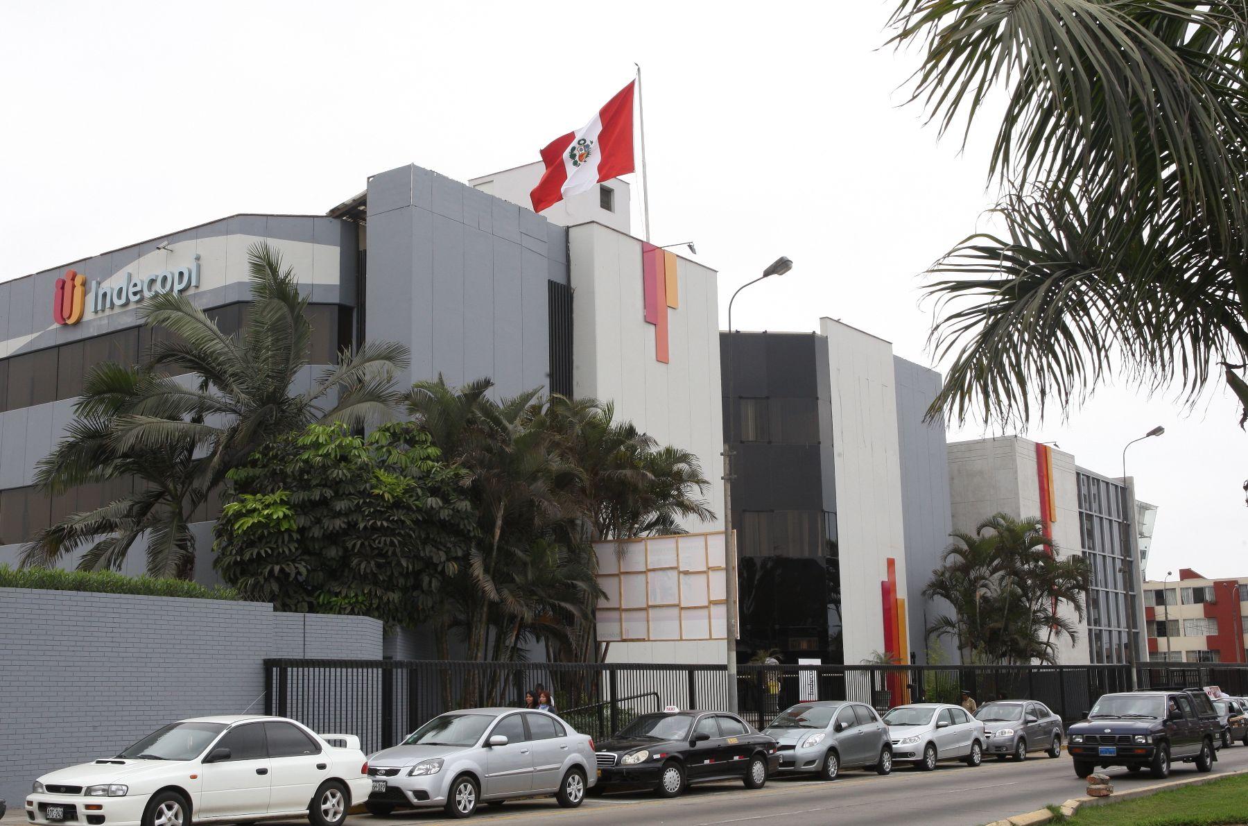 Sede central del Indecopi. ANDINA/Norman Córdova