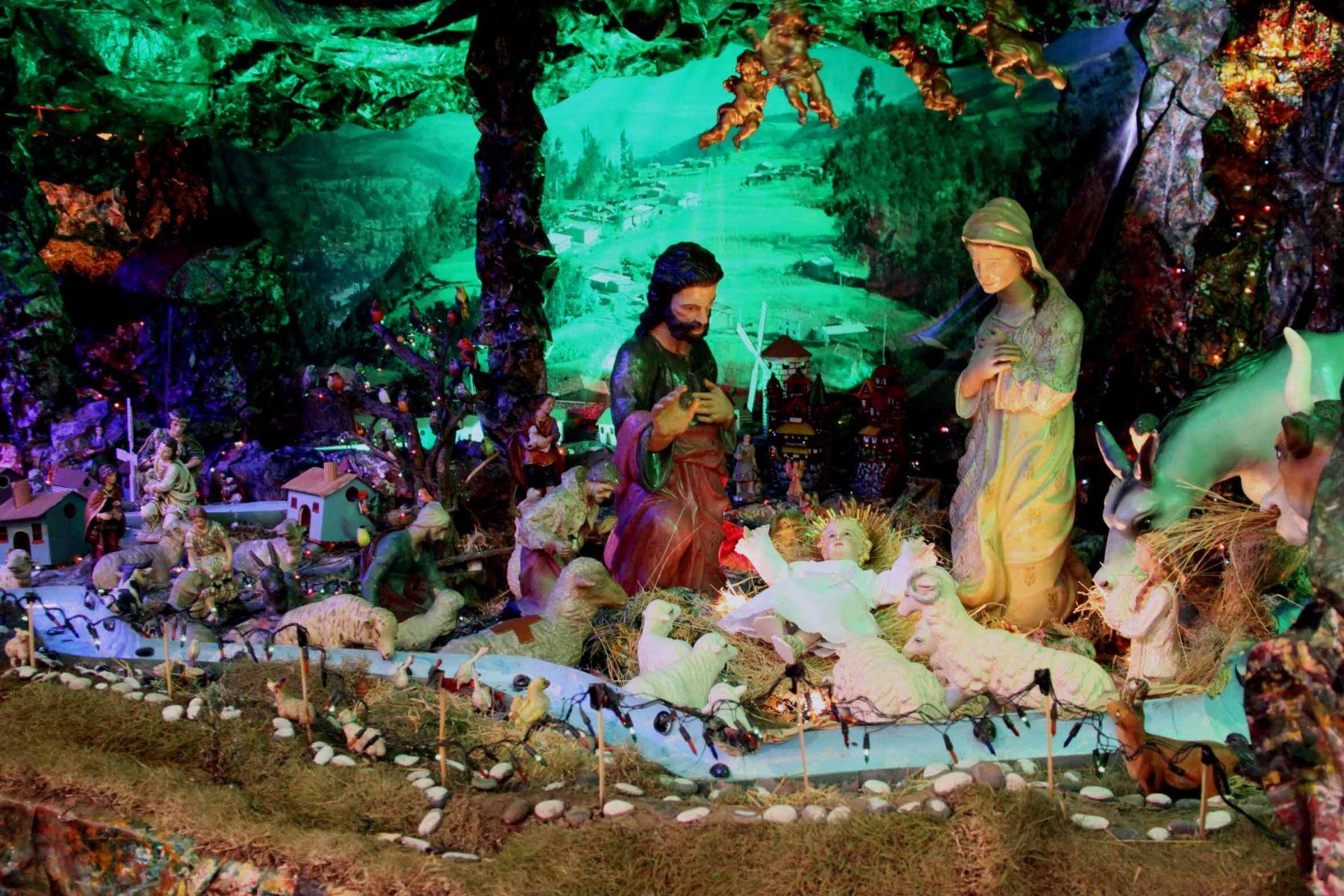 Nacimiento de la iglesia Jesús, María y José ganó concurso de ...