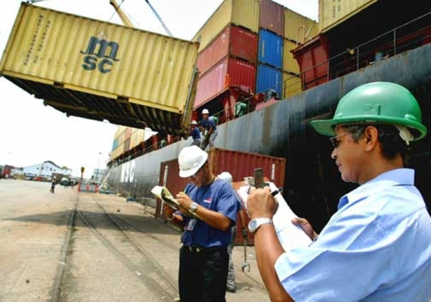 Peruvian exports.