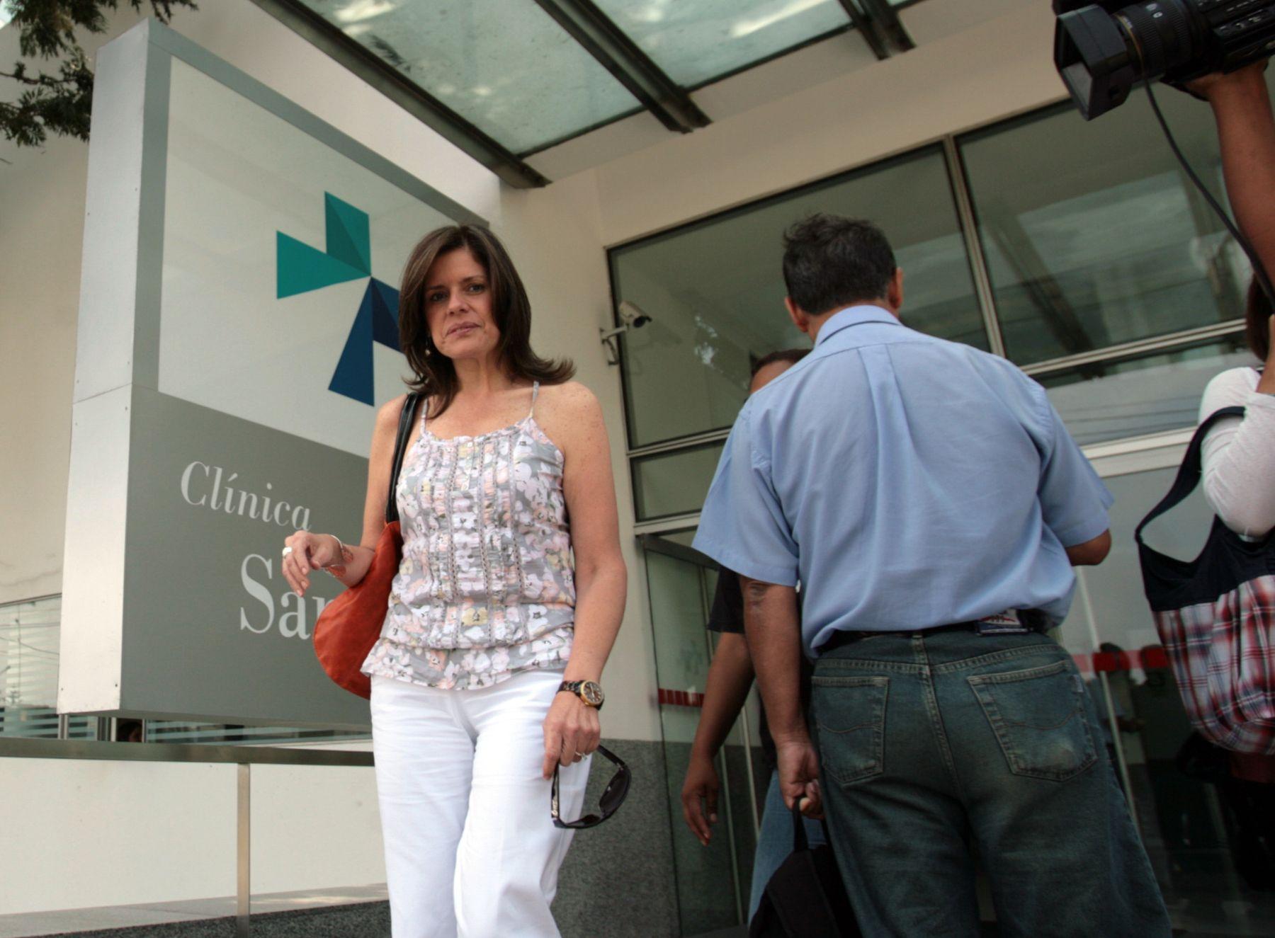 Candidata a la presidencia por el Partido Aprista, Mercedes Aráoz.  Foto: ANDINA/Cesar García