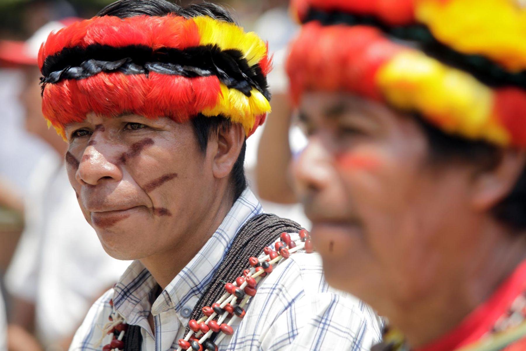 La inclusión social de los nativos será posible con el Museo Nacional Amazónico. ANDINA/archivo