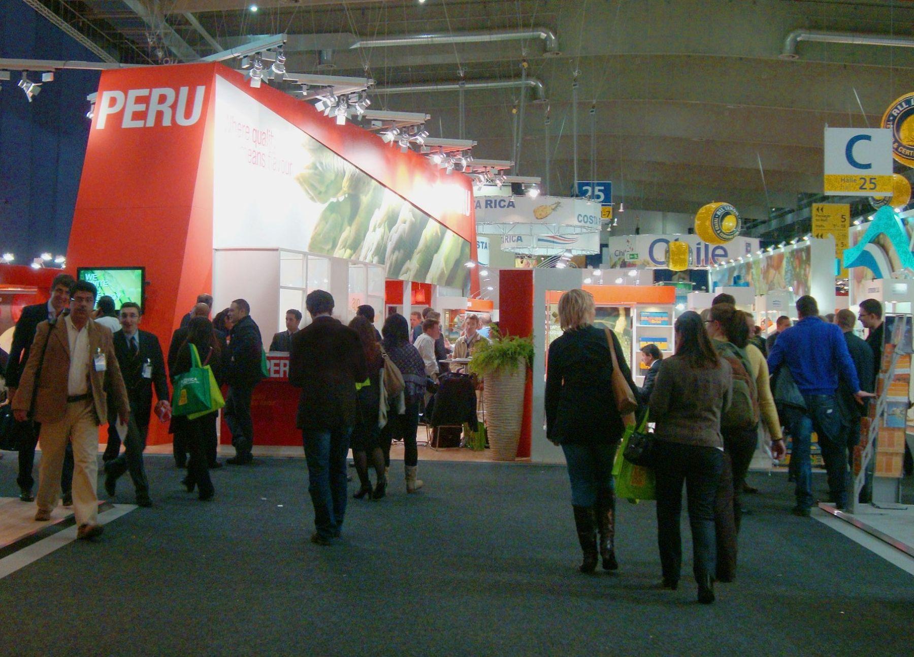 Feria especializada en alimentos Fruit Logistica, realizada en Berlín (Alemania).