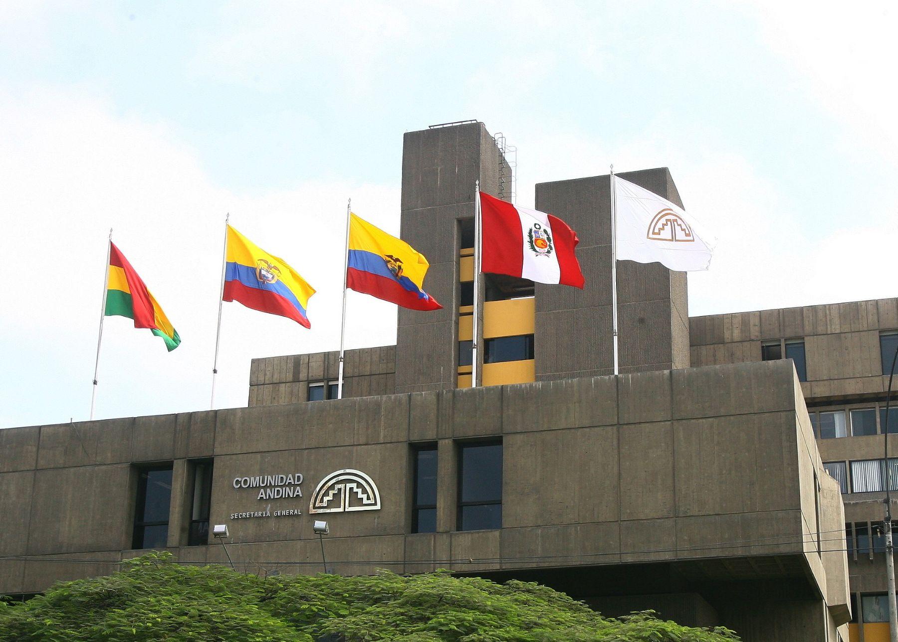 Sede de la Comunidad Andina en Lima. ANDINA/archivo