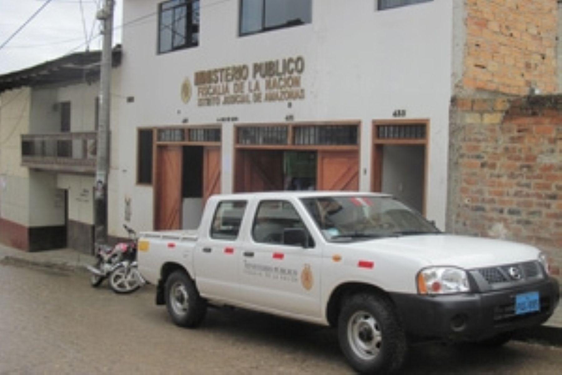 Sede del Ministerio Público en Chachapoyas.  INTERNET/Medios