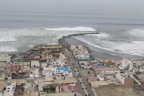 El balneario de Salaverry, en Trujillo, fue remecido esta mañana por un sismo de magnitud 4.5. ANDINA/archivo