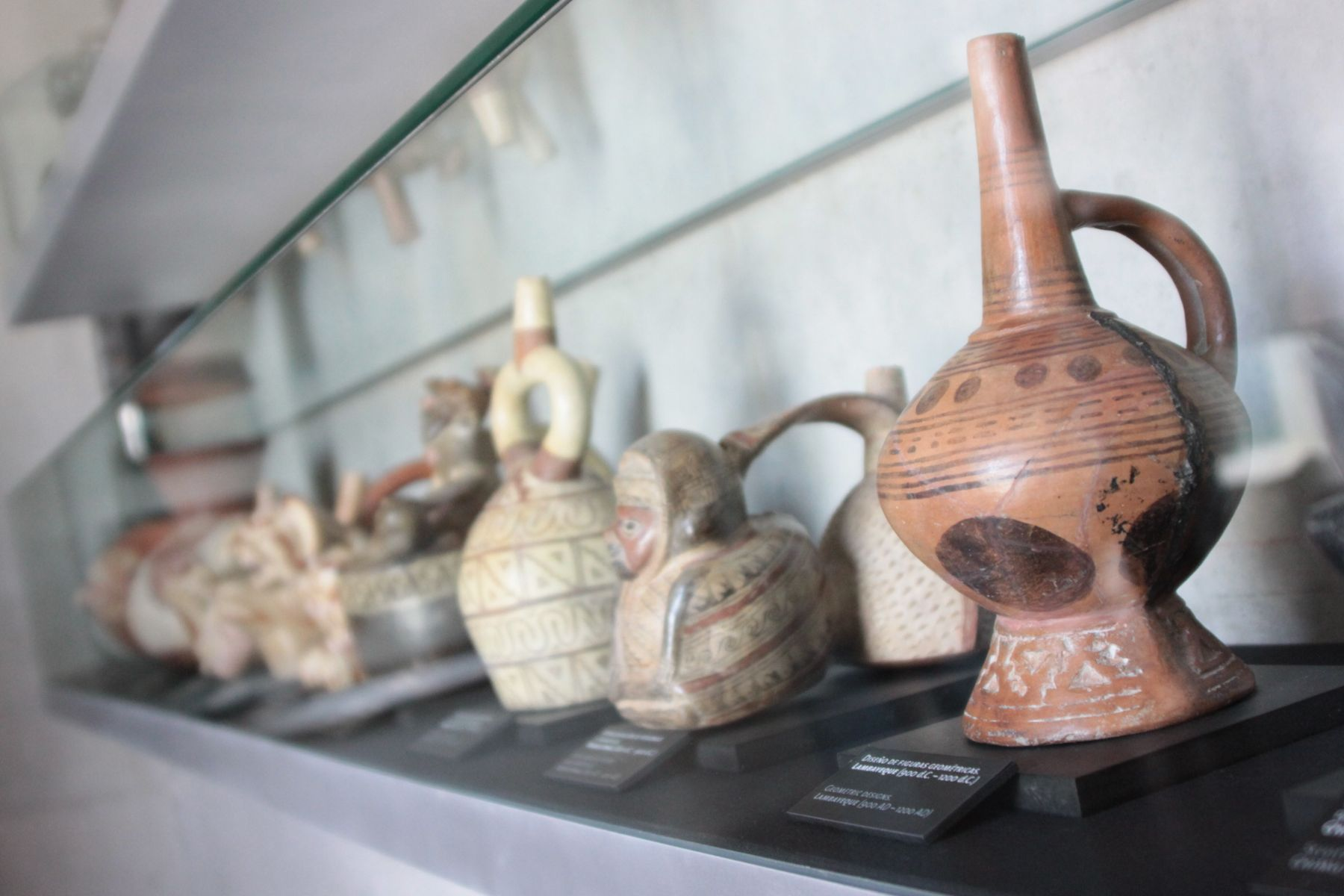 Artifacts from Mochica Culture. Photo:ANDINA/Oscar Paz