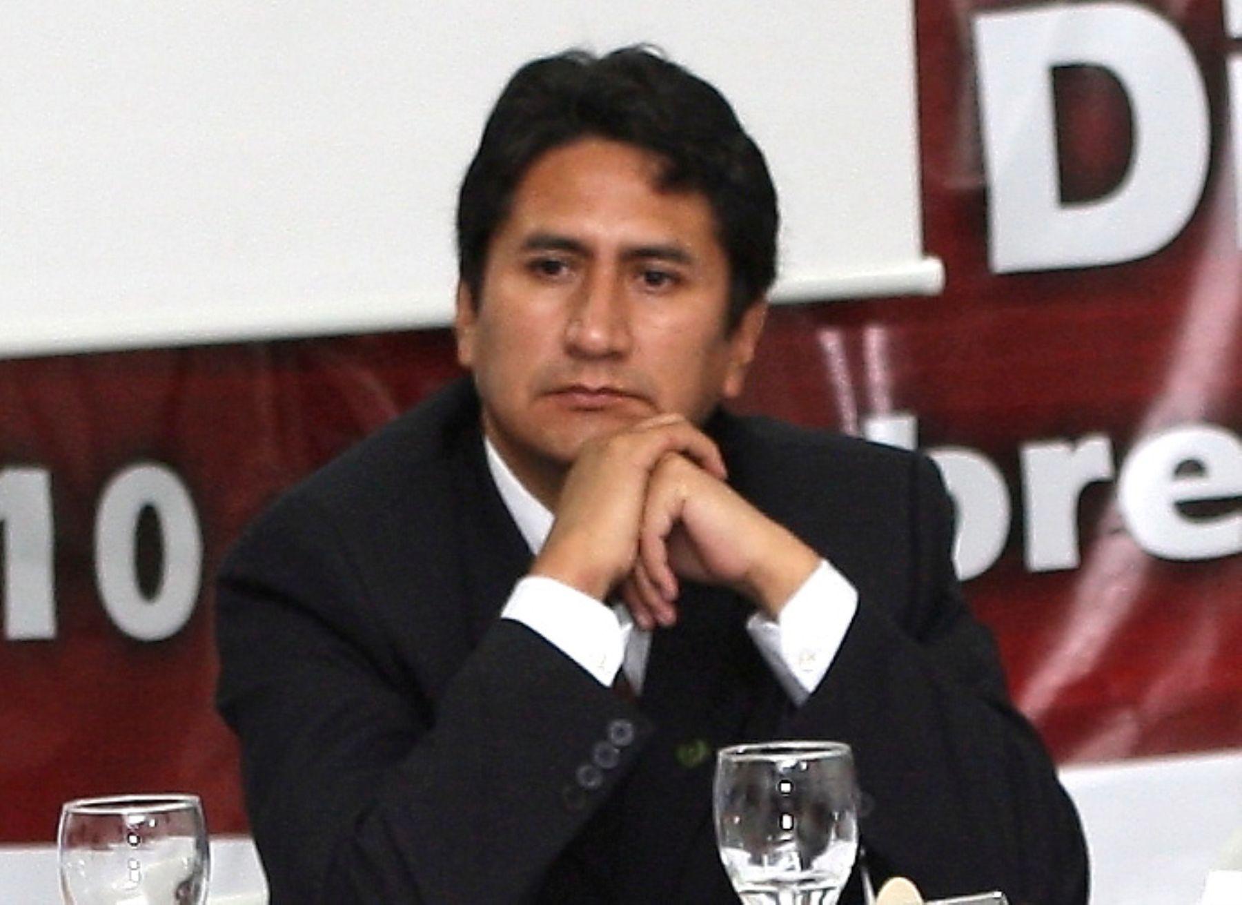 Vladimir Cerrón, presidente de la Asamblea Nacional de Gobiernos Regionales (ANGR)   Foto: ANDINA/archivo