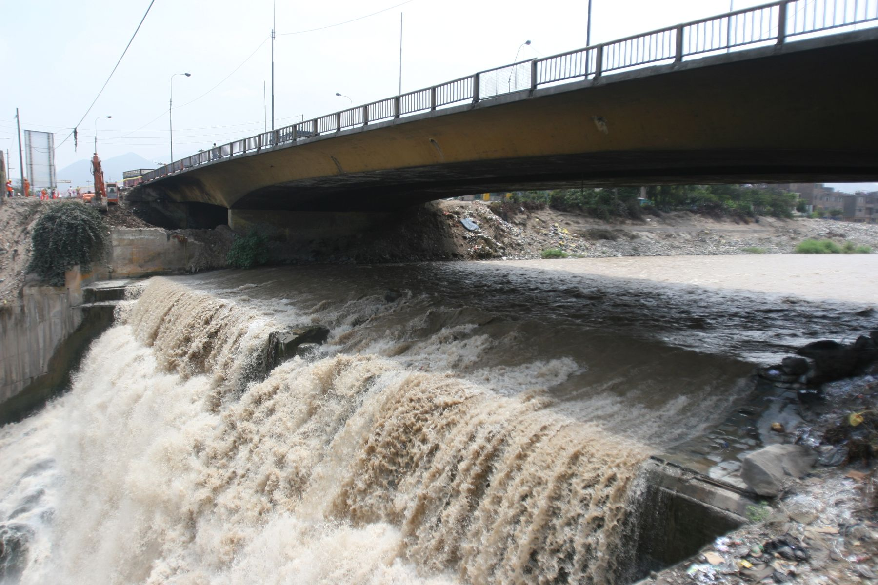 Contaminación de ríos Foto: ANDINA/archivo