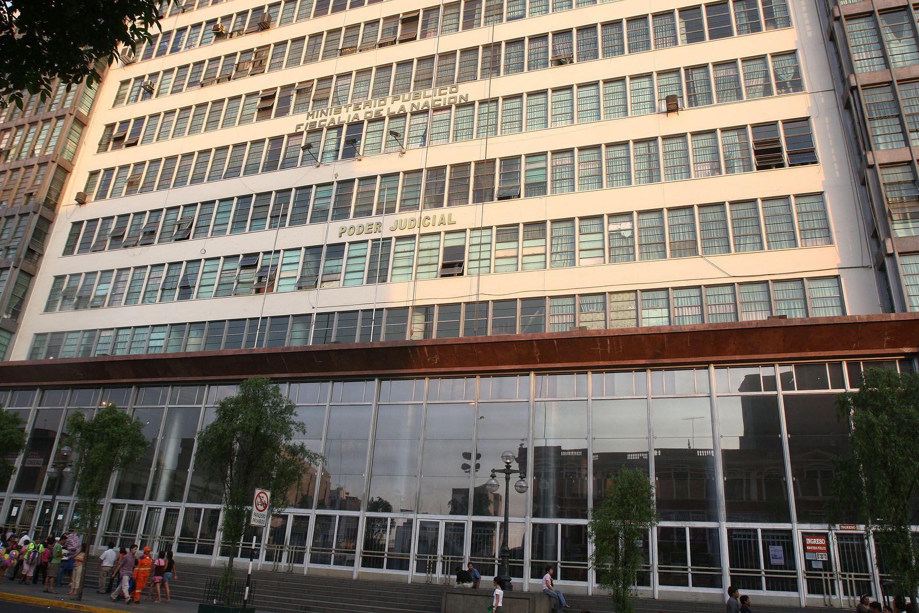 Sede de la Fiscalía de la Nación. Foto: ANDINA/Archivo.