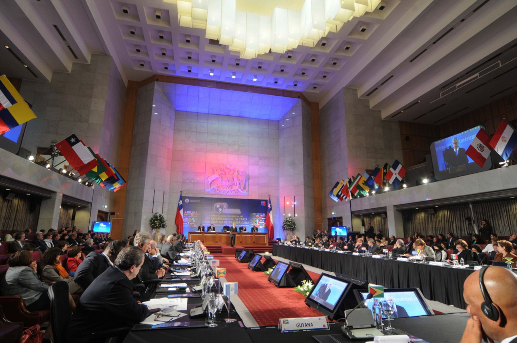 Foreign Ministers, ambassadors and special guests celebrate Inter-American Democratic Charter anniversary, Photo:OAS