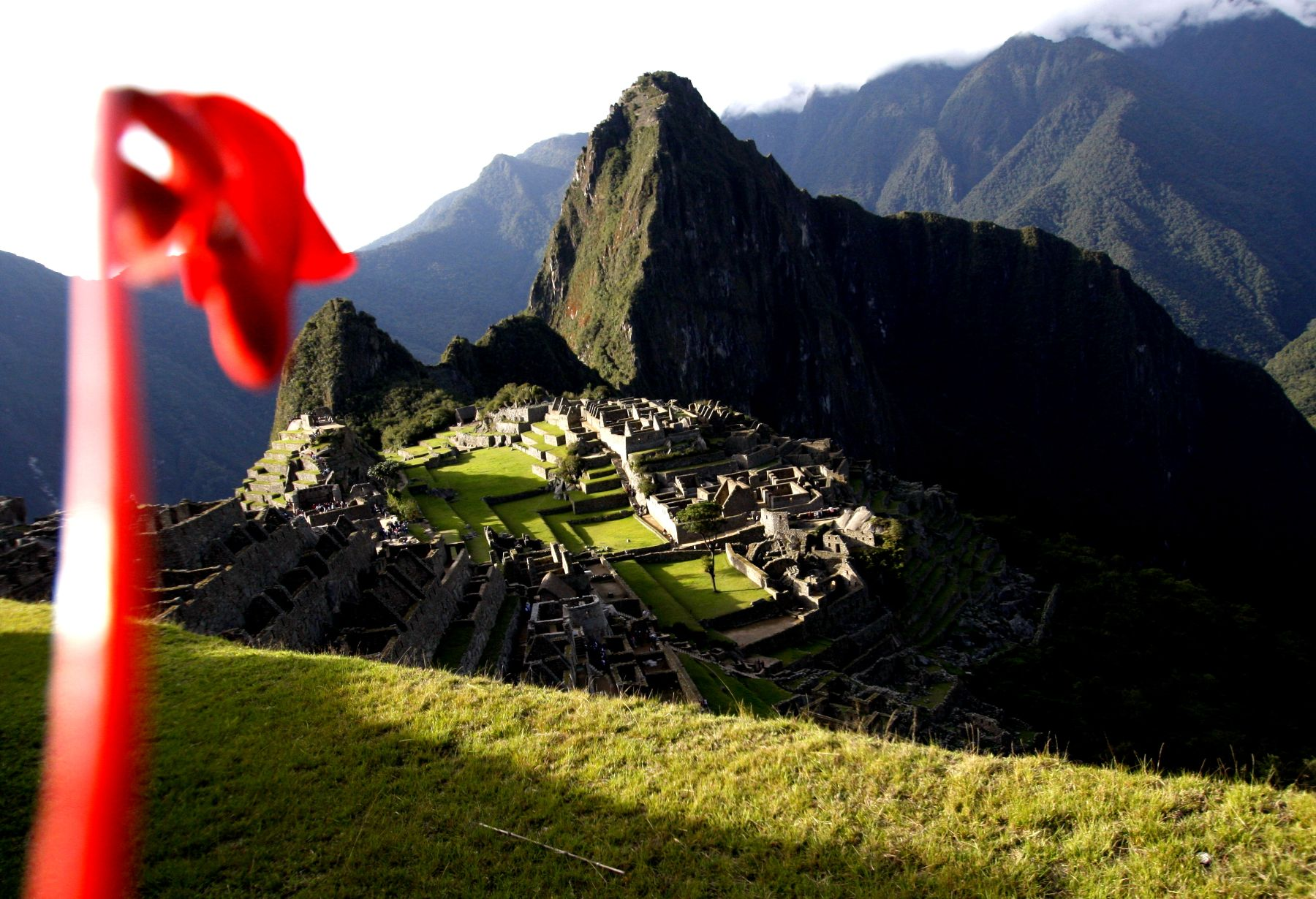 Inca Citadel of Machu Picchu. Photo: ANDINA/Percy Hurtado