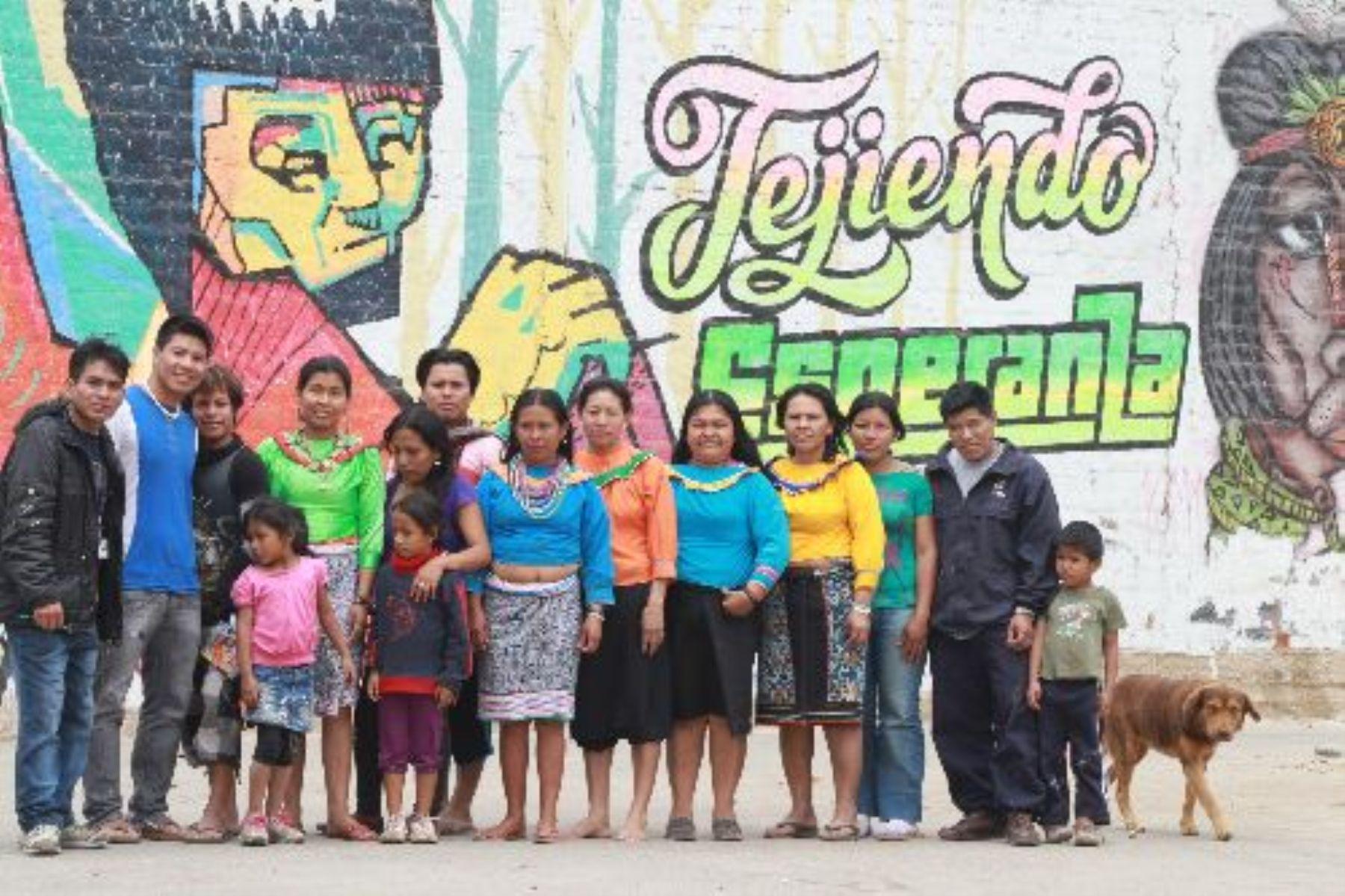 Comunidad shipiba Ashirel, de Cantagallo.